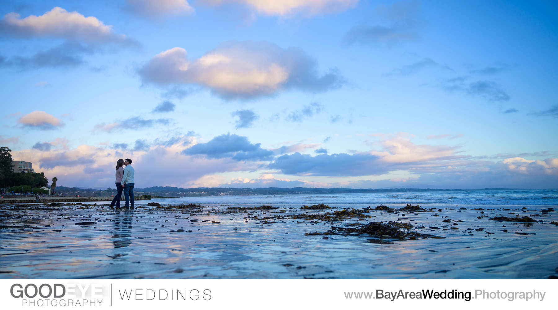Capitola Beach Engagement Photos - by Bay Area wedding photograp