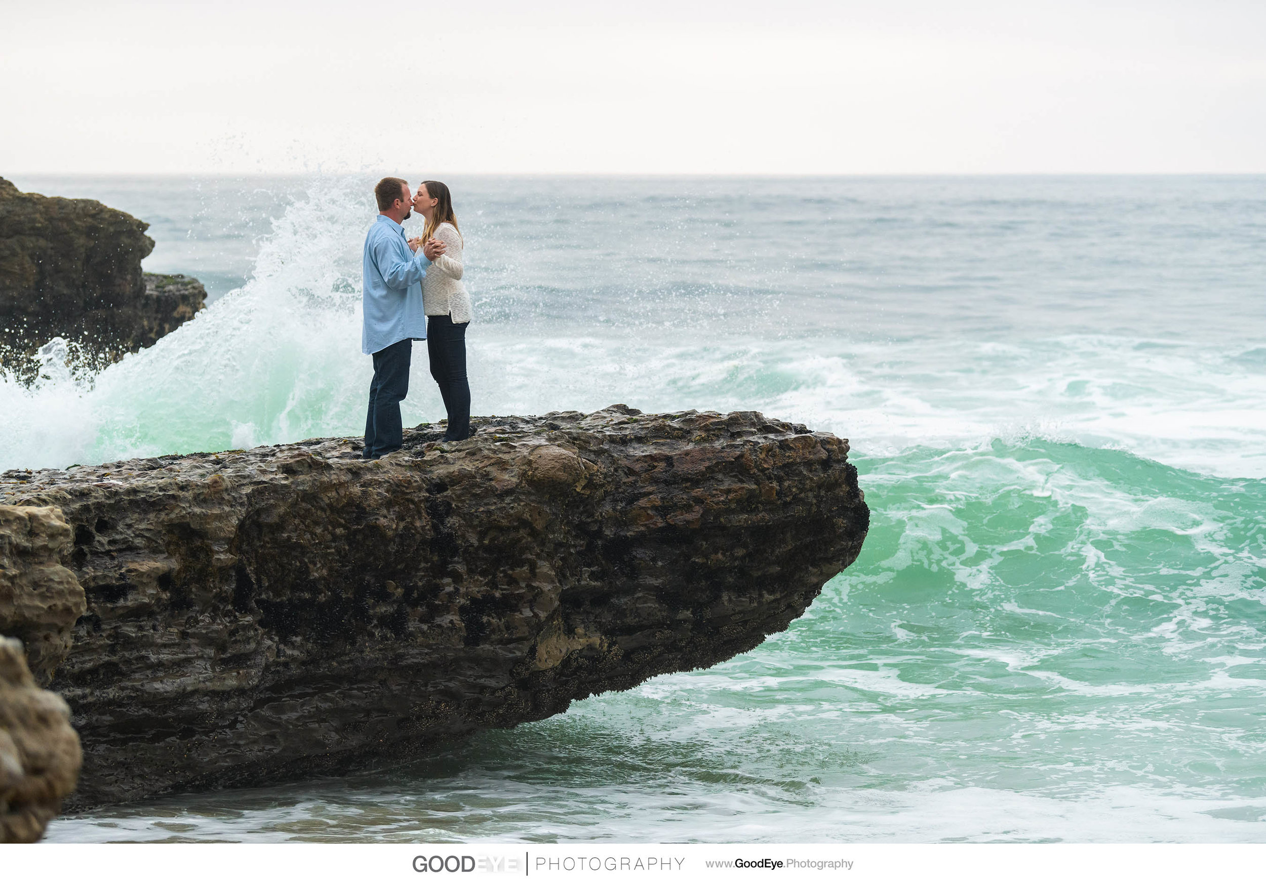 Panther Beach Santa Cruz Engagement Photos - by Bay Area wedding