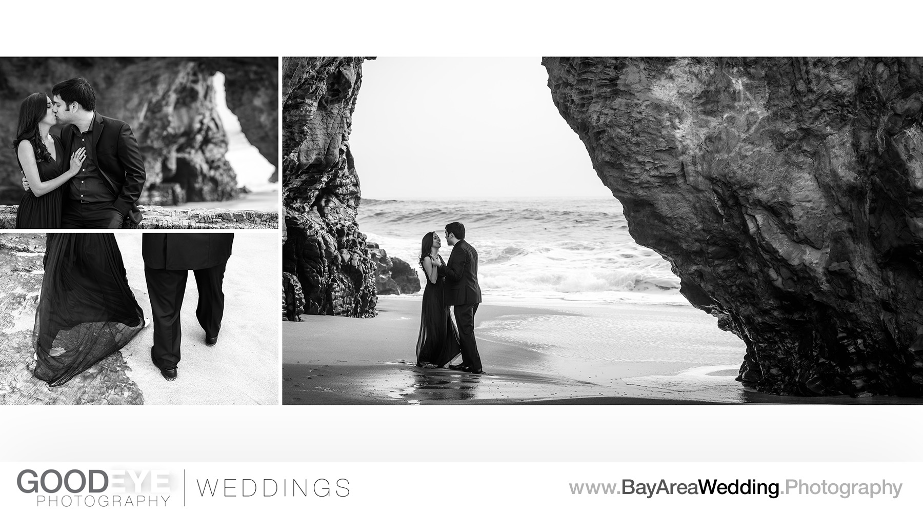 Panther Beach Santa Cruz Marriage Proposal / Engagement Photos -