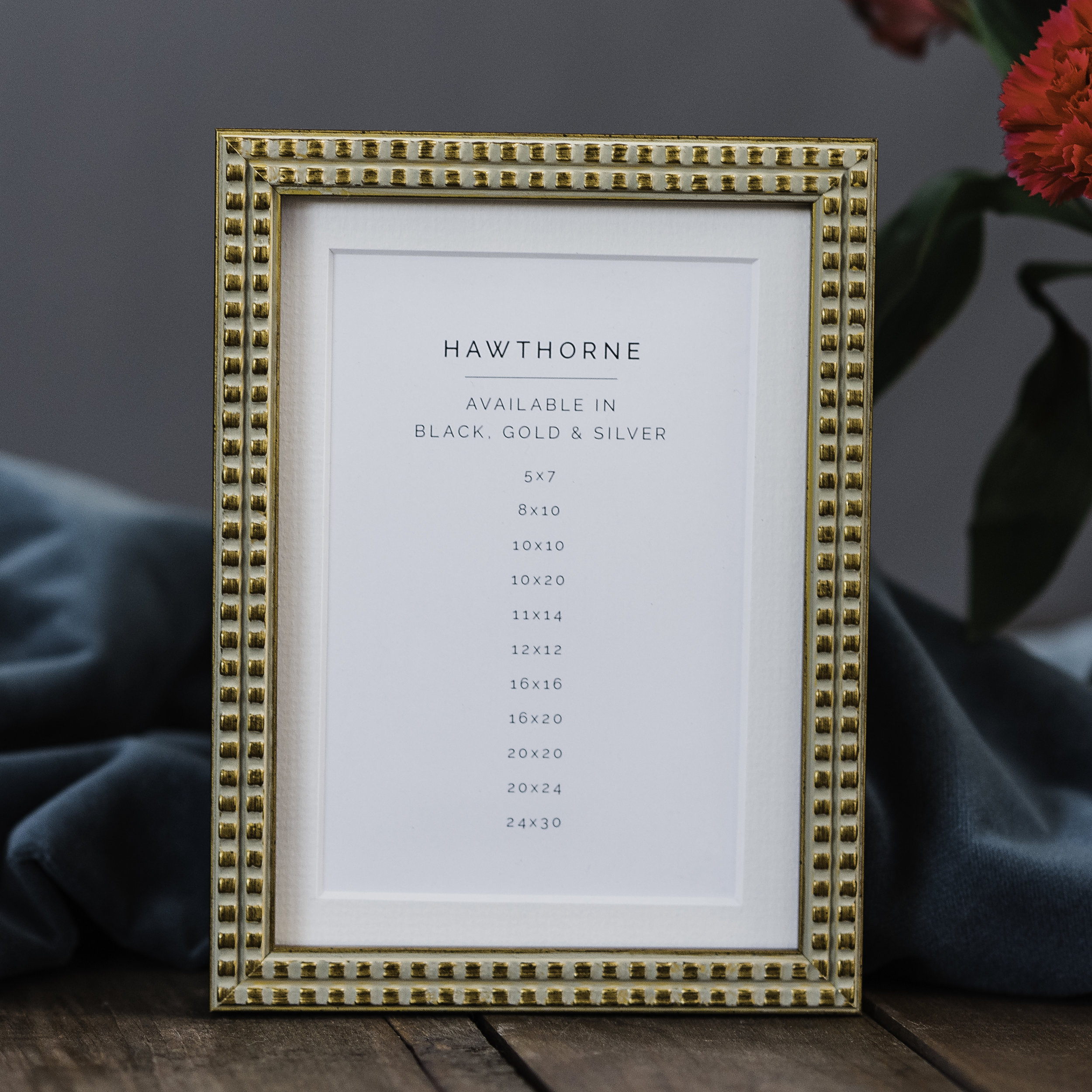 Gold Hawthorne Frame