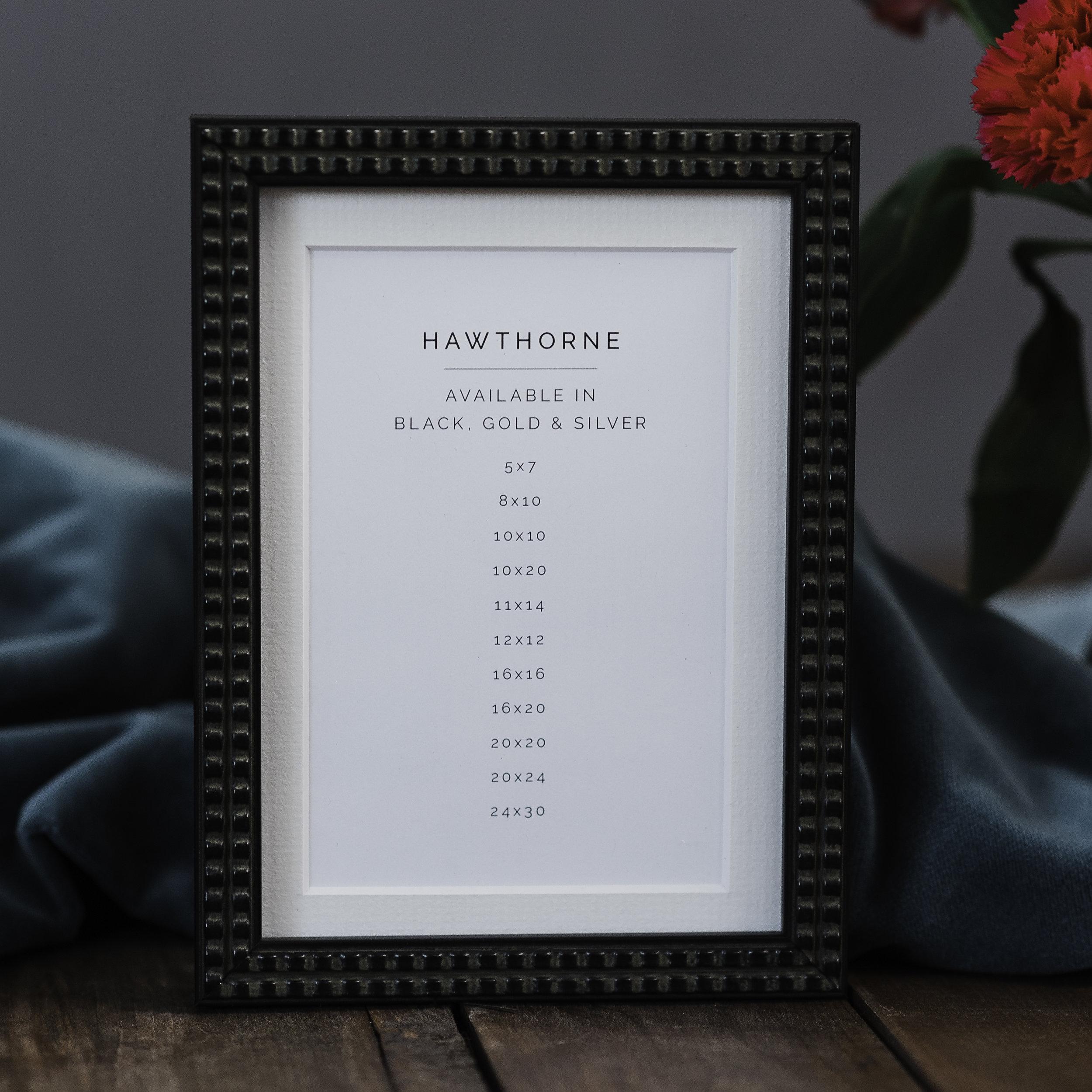 Black Hawthorne Frame