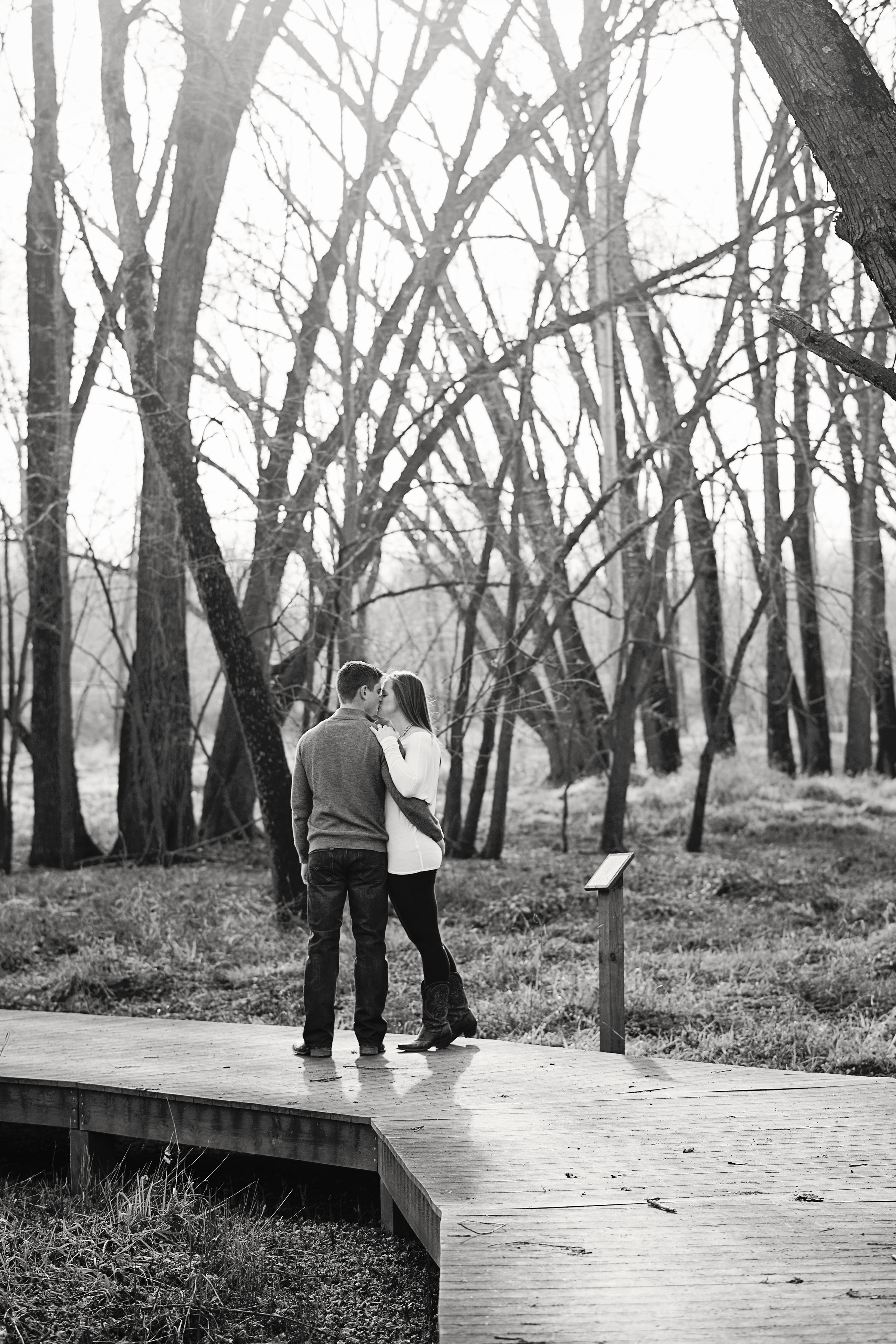 Indian Creek Reserve Engagement Session | Iowa Wedding Photographer