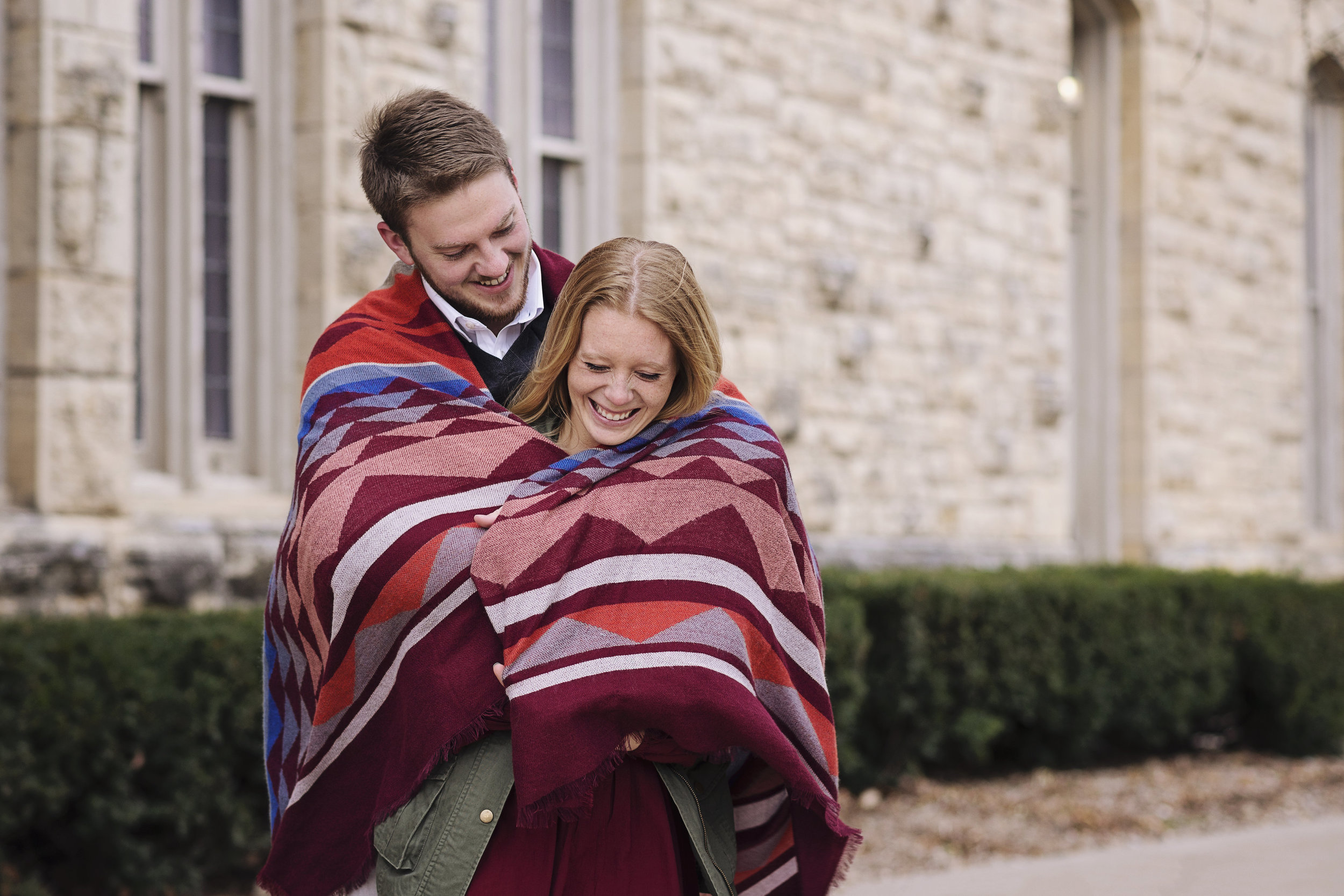 Cornell College Engagement | Iowa Wedding Photographer