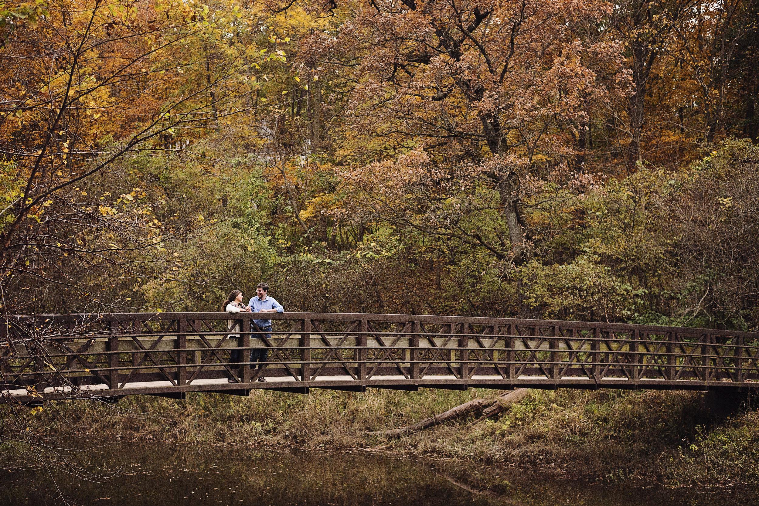 Coralville Reservoir Engagement | Iowa City Photographer