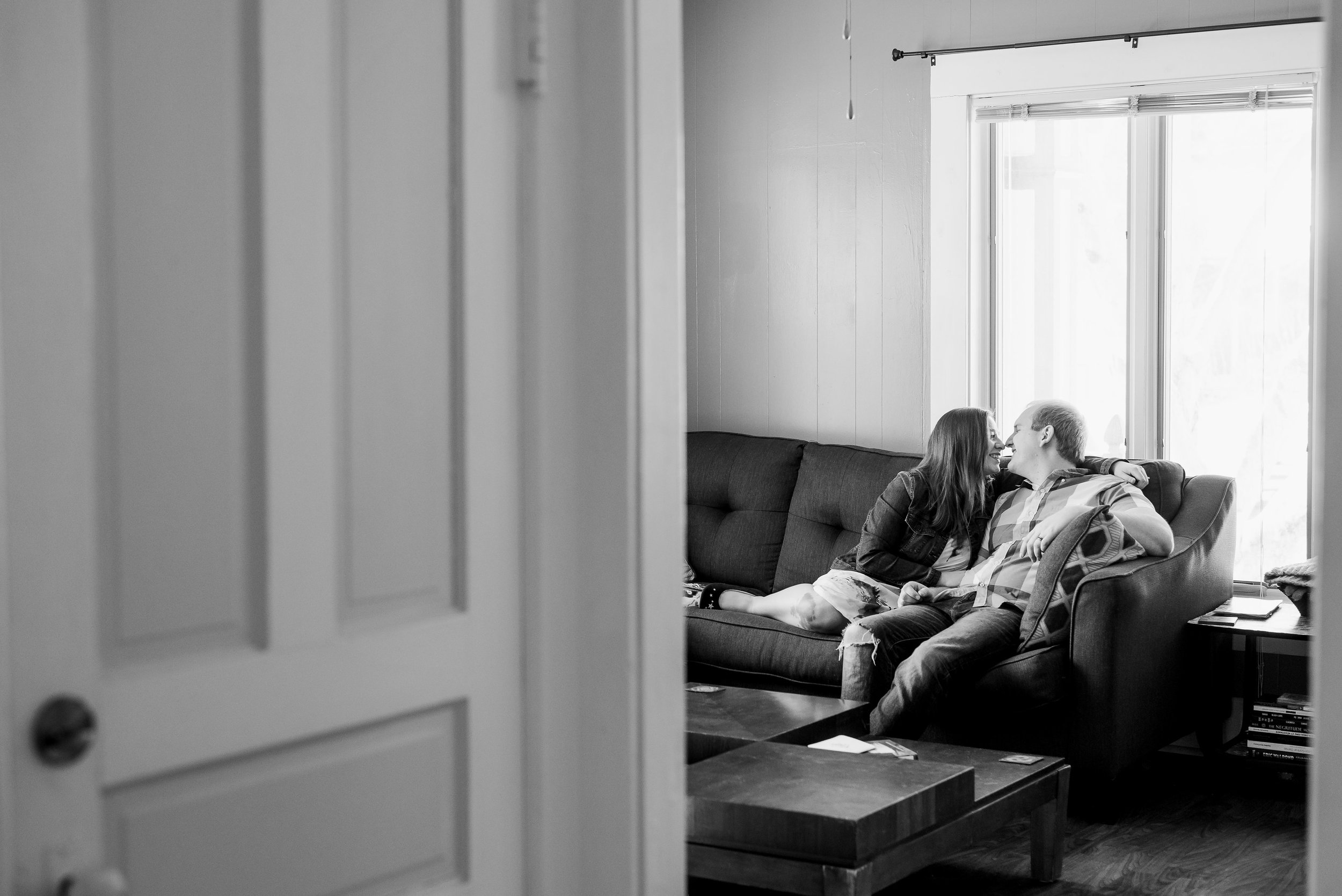 Iowa City Lifestyle Engagement | Iowa City Wedding Photographer