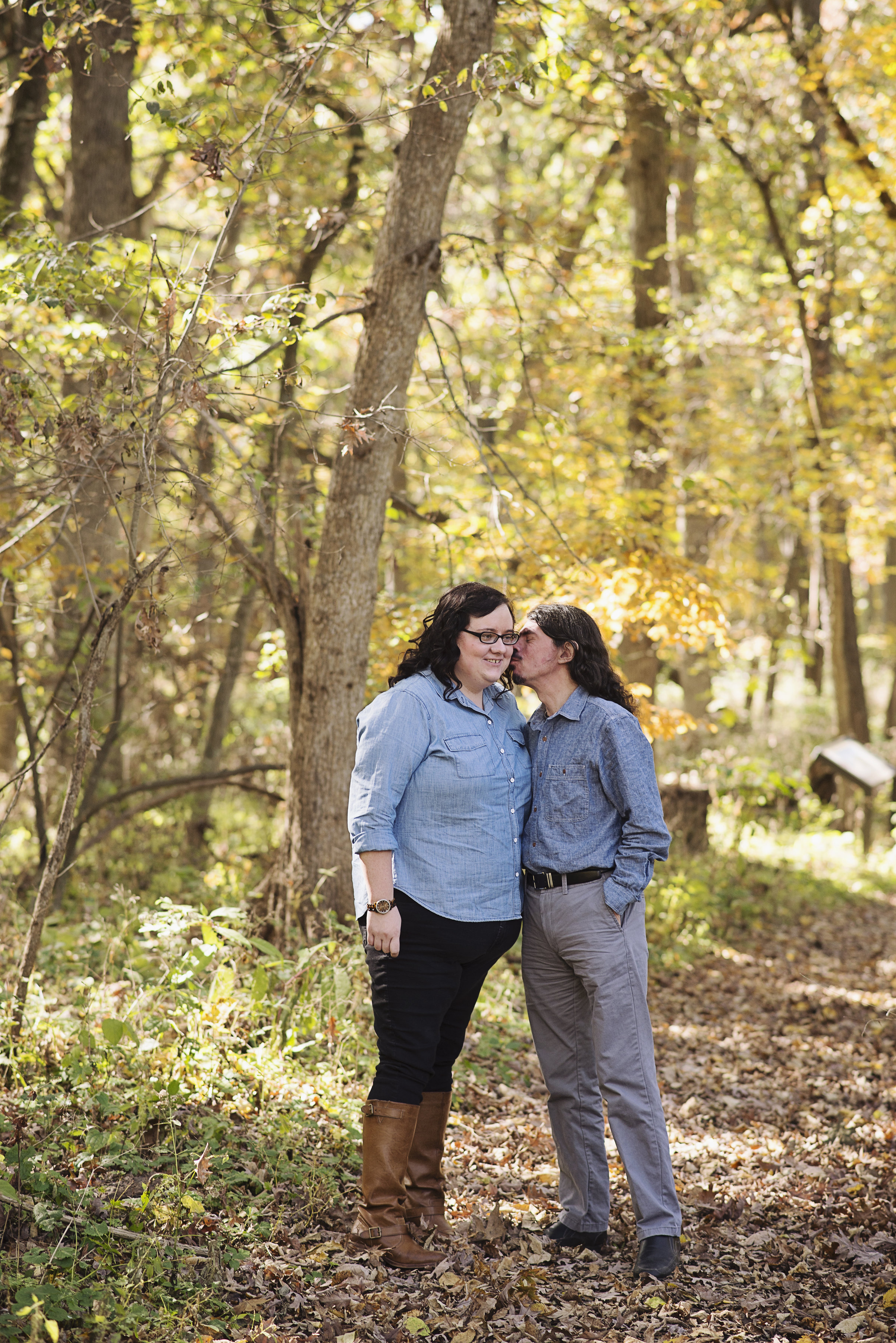 Lake Macbride State Park Engagement Session