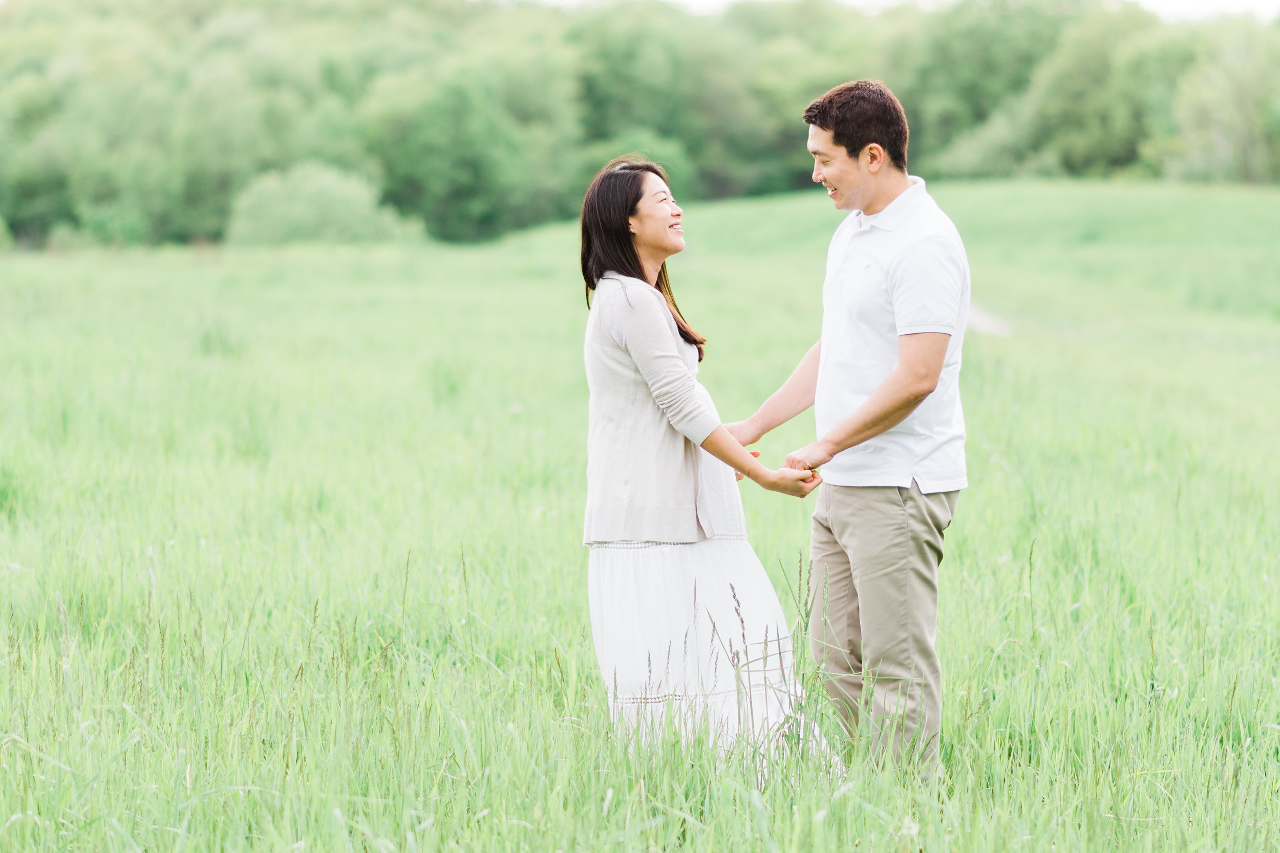 Maternity Photography Session at Hickory Hill Park | Iowa City Photographer