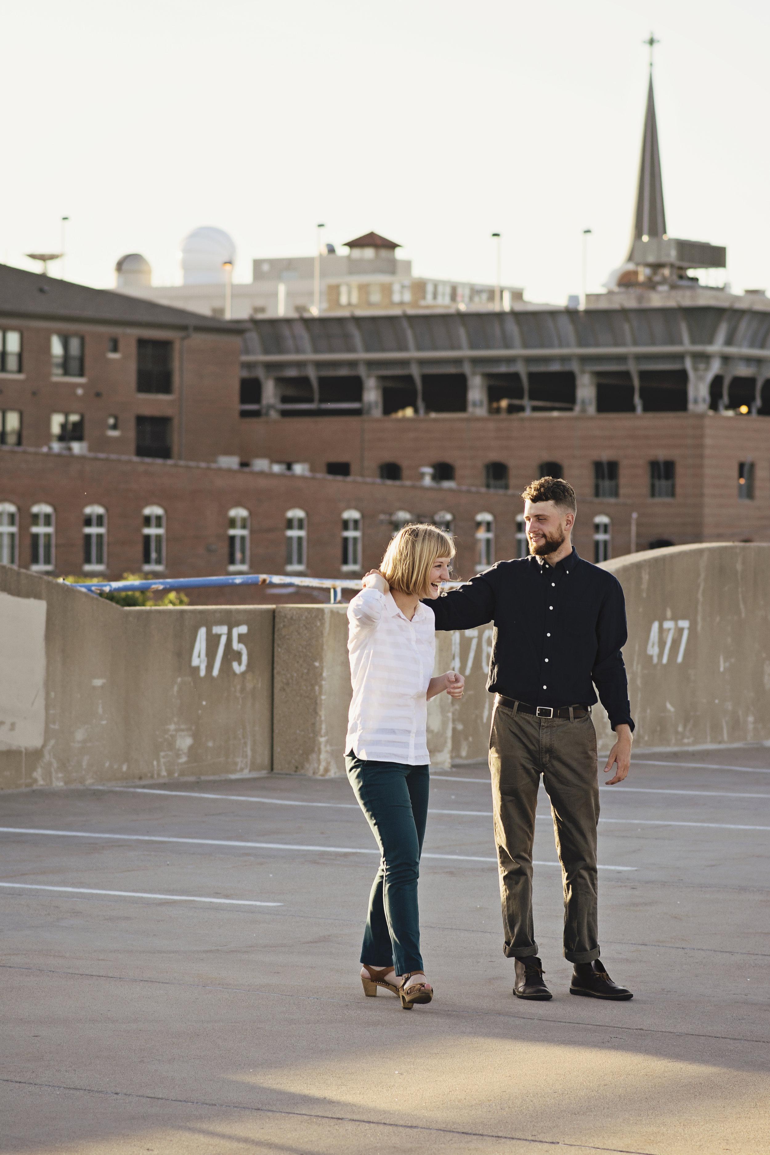 Chauncey Swan Ramp Engagement | Iowa City Photographer