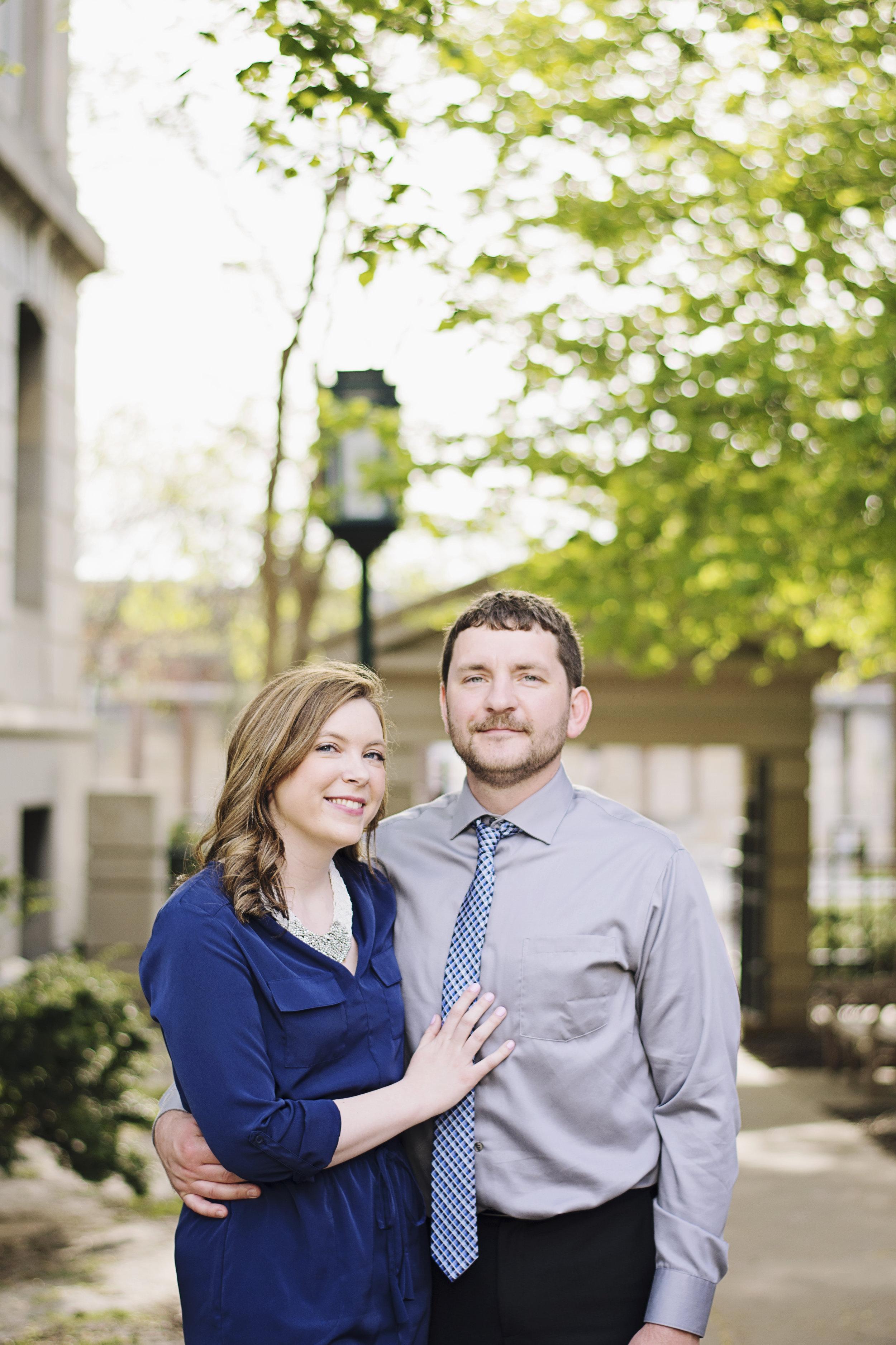 University of Iowa Campus Engagement | Iowa City Wedding Photographer