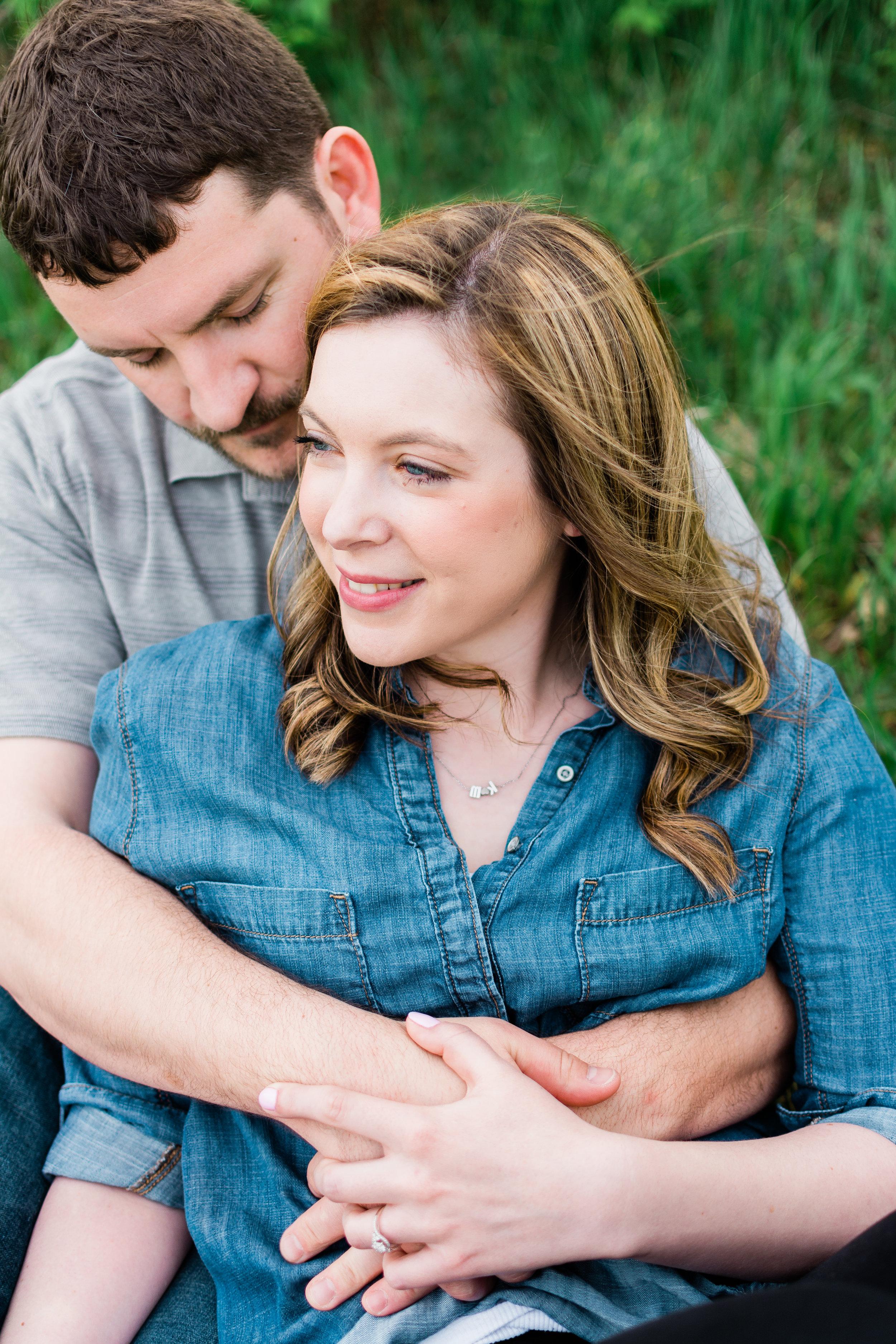 Terry Trueblood Recreation Area Engagement | Iowa City Wedding Photographer