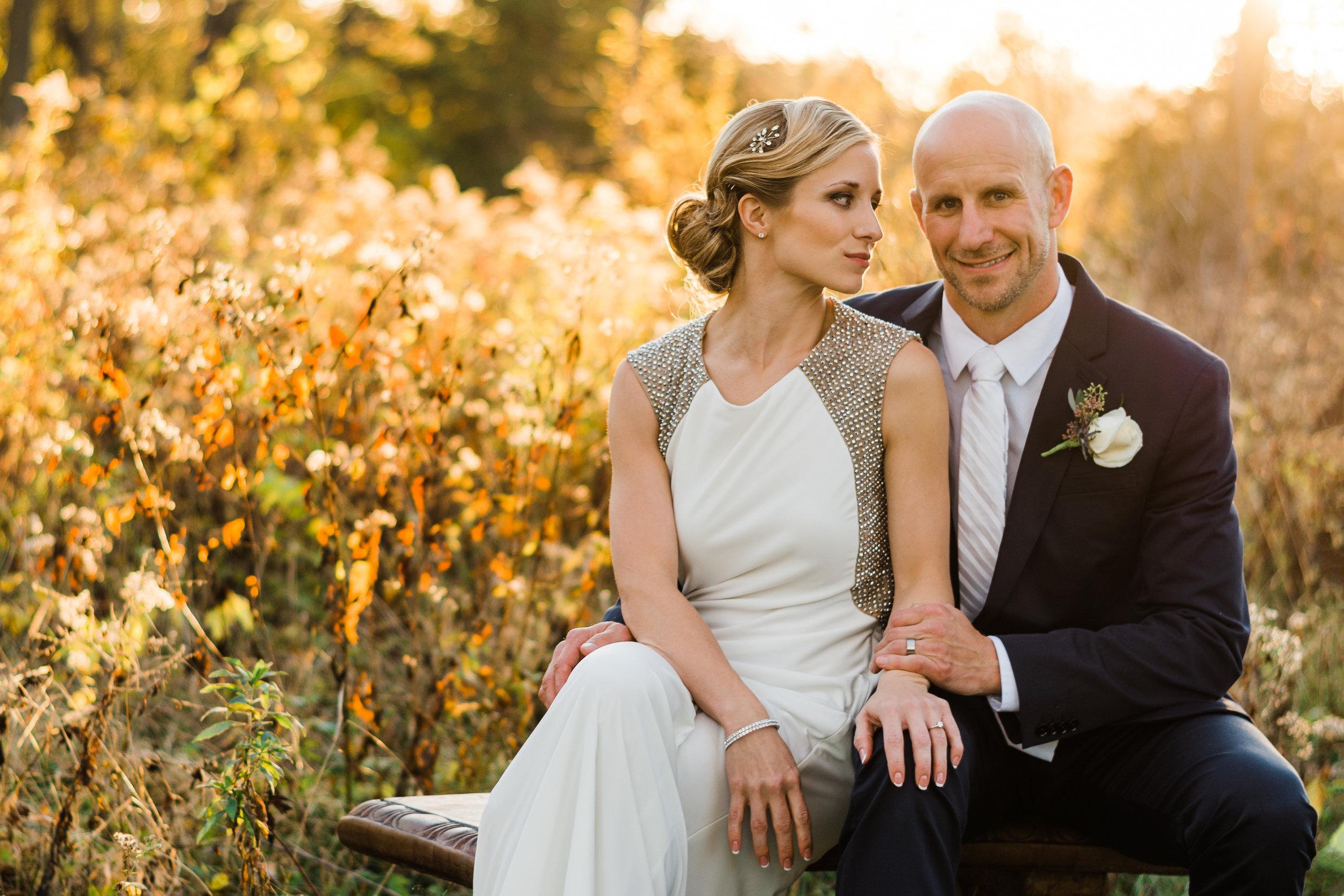 Coralville Wedding Portrait - Iowa City Photographer
