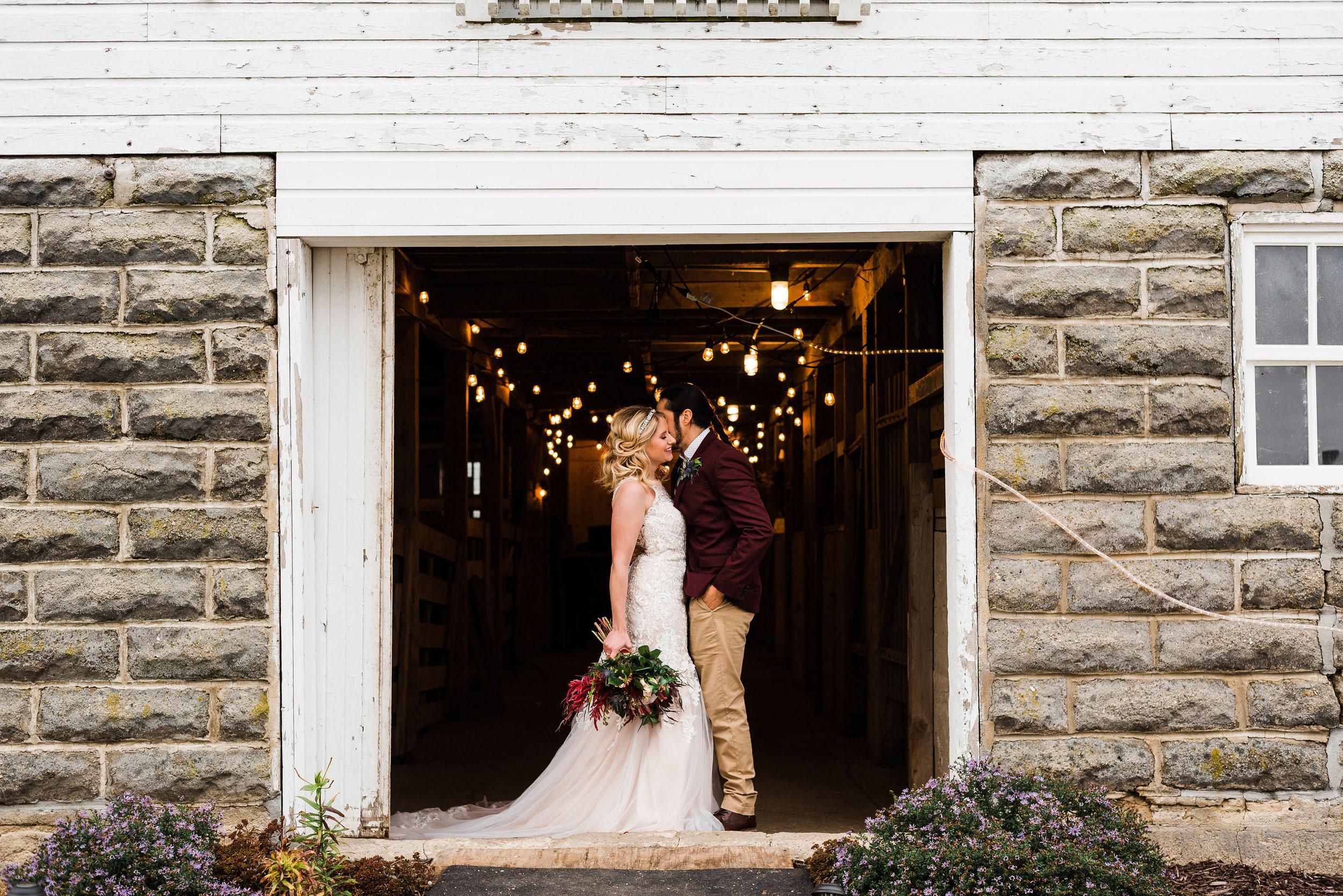 Old Fifty Six Barn - Grundy Center, Iowa, Wedding Photographer