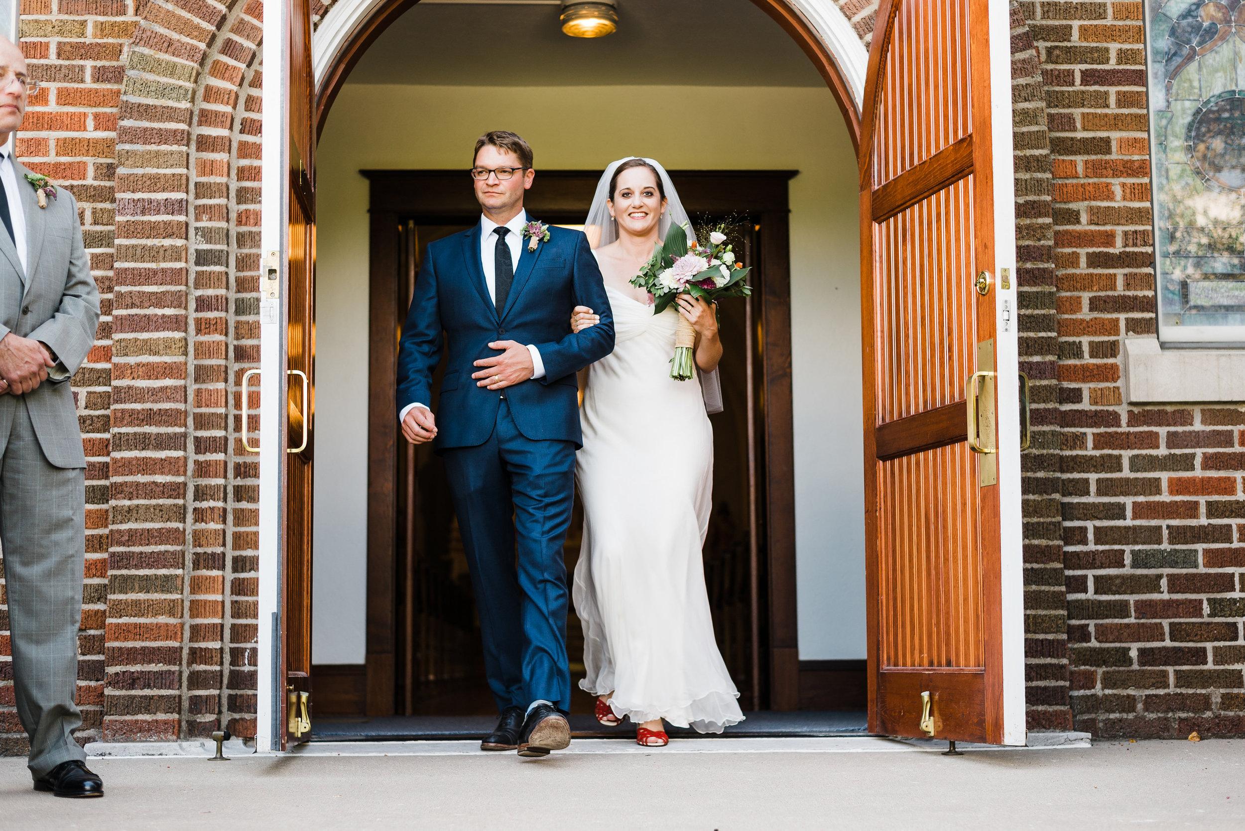 Saints Peter and Paul Church - Sutliff, Iowa, Wedding Photographer