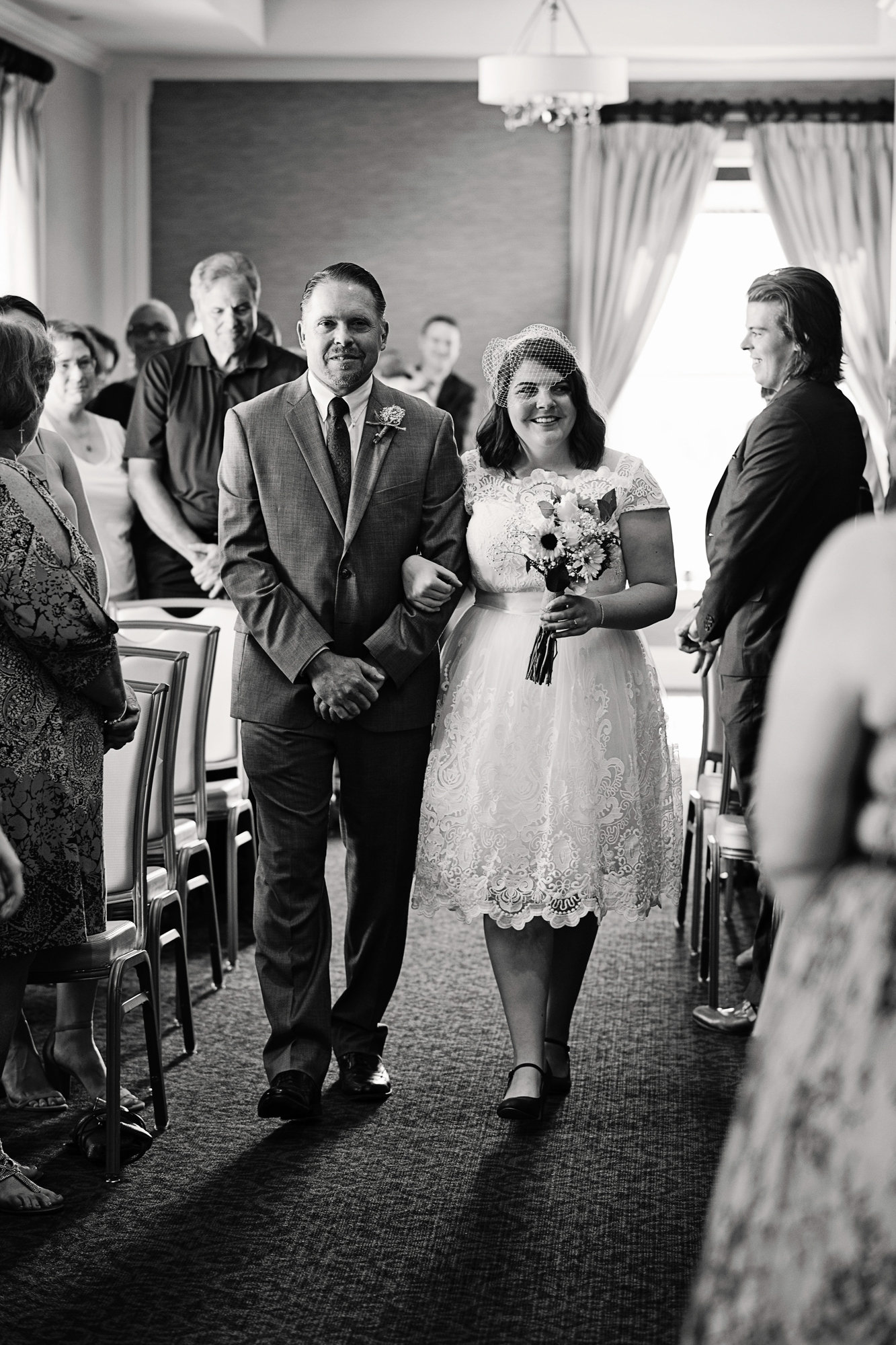 Hotel Blackhawk - Davenport, Iowa, Wedding Photographer