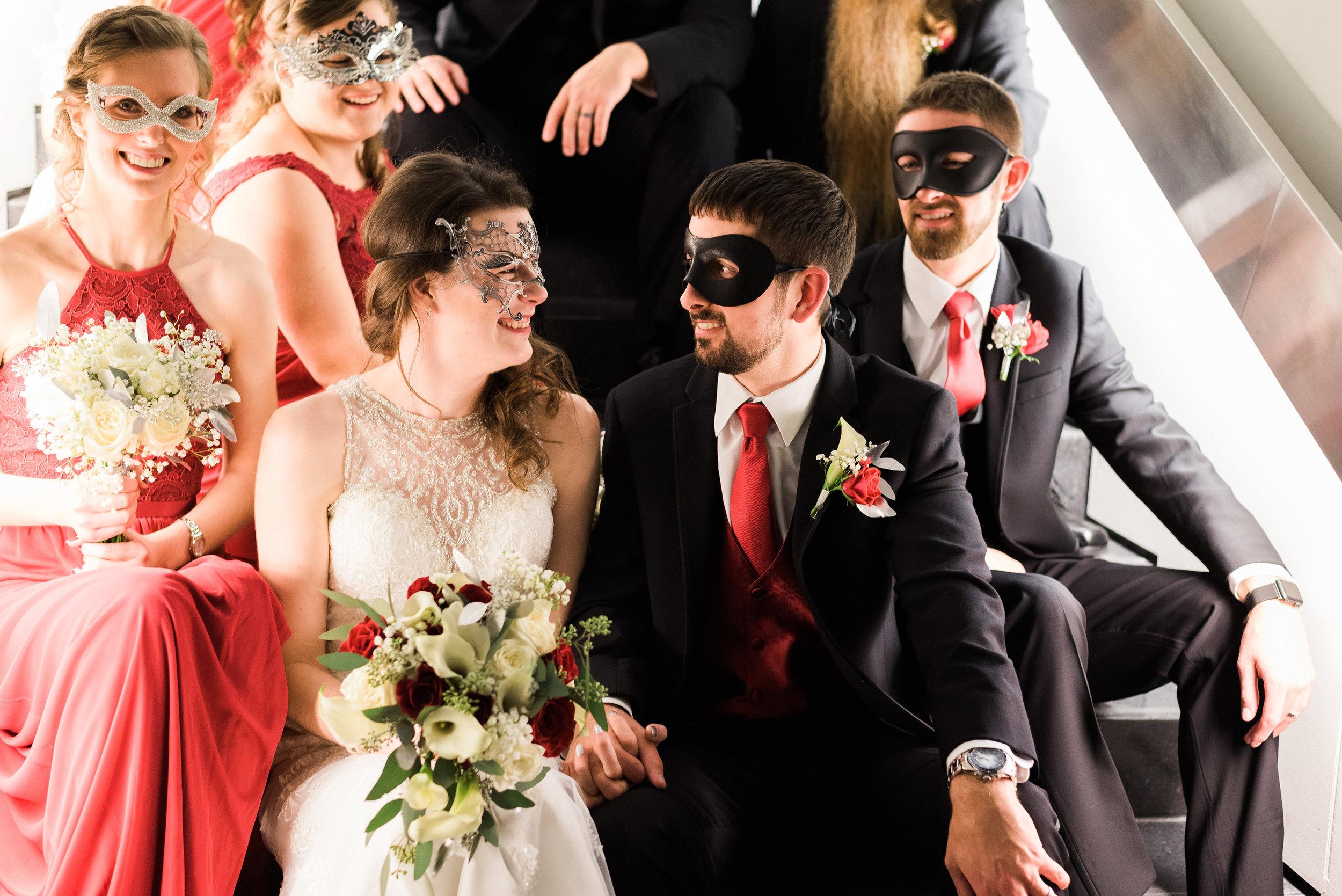 Figge Art Museum - Davenport, Iowa, Wedding Photographer