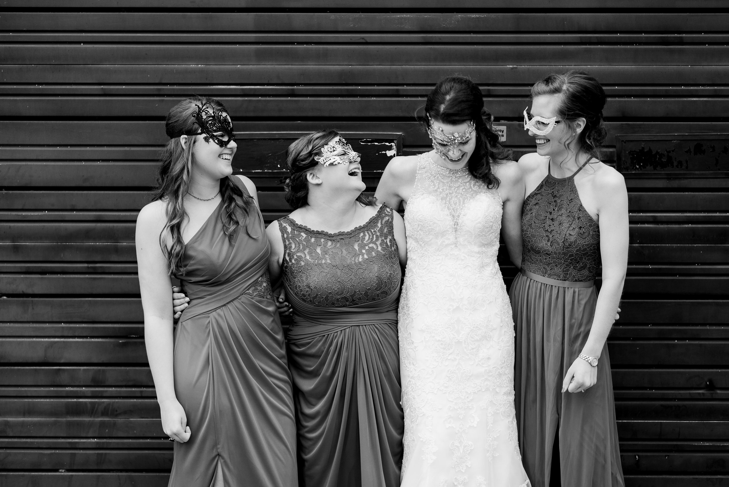 Downtown Davenport Iowa Wedding Photographer