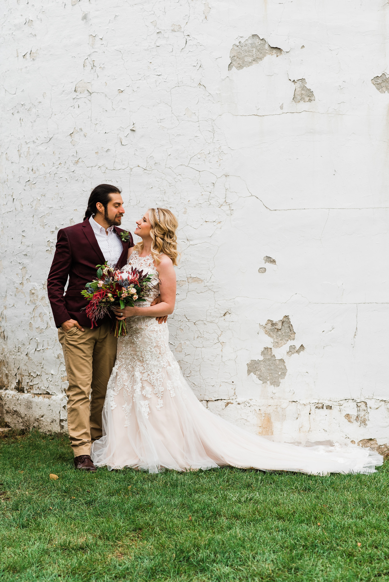 Grundy Center Barn Wedding at the Old Fifty Six