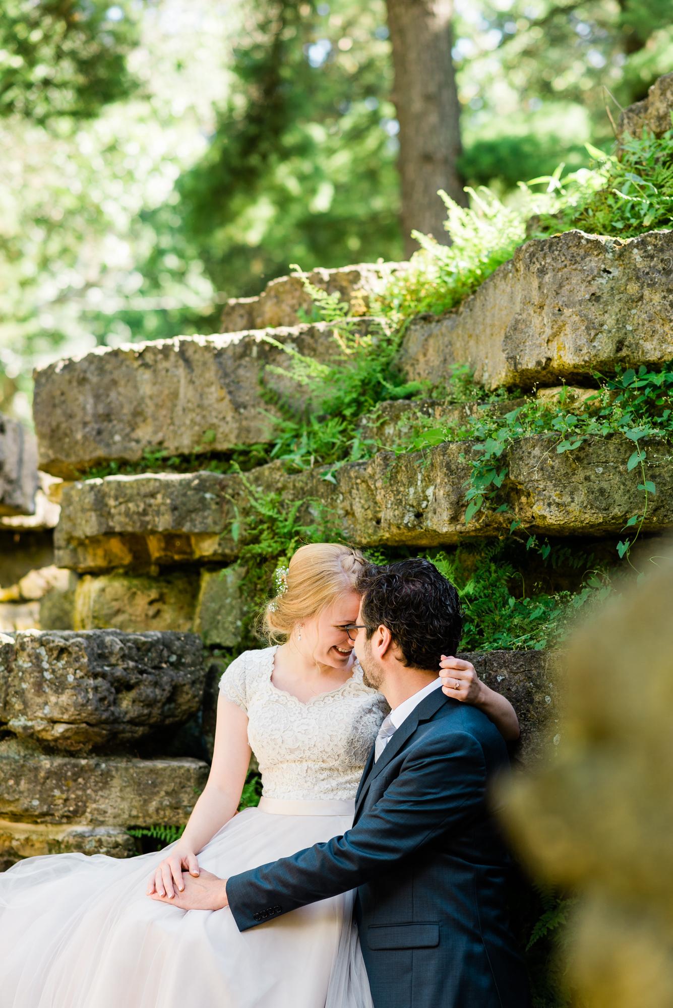 Dubuque, Iowa Wedding Portraits
