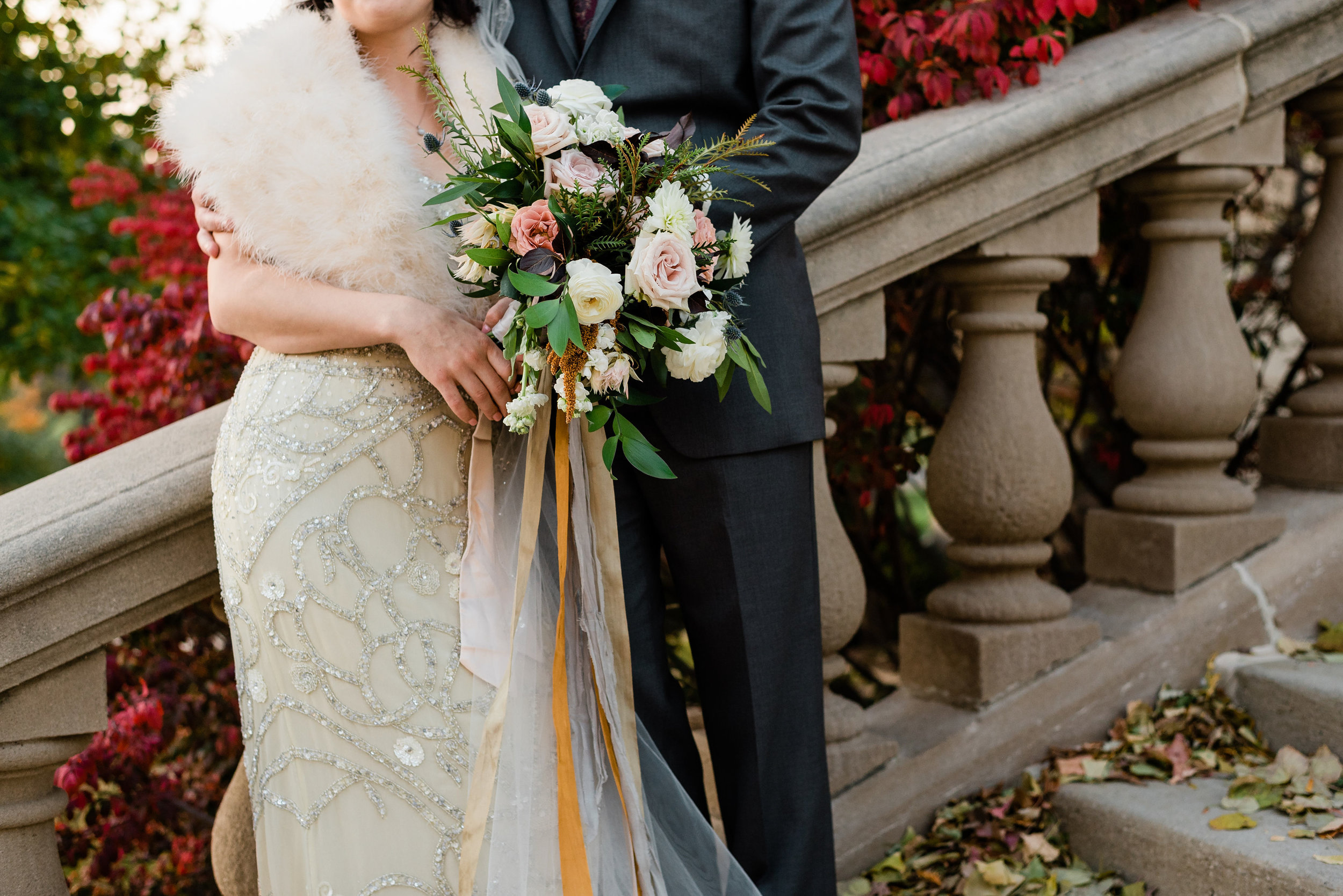 The Old Capital and Museum of natural history wedding