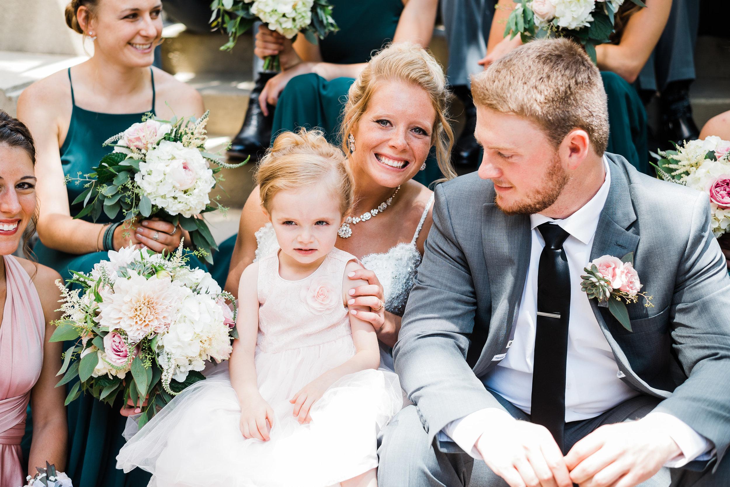 Downtown Iowa City Wedding Photographer