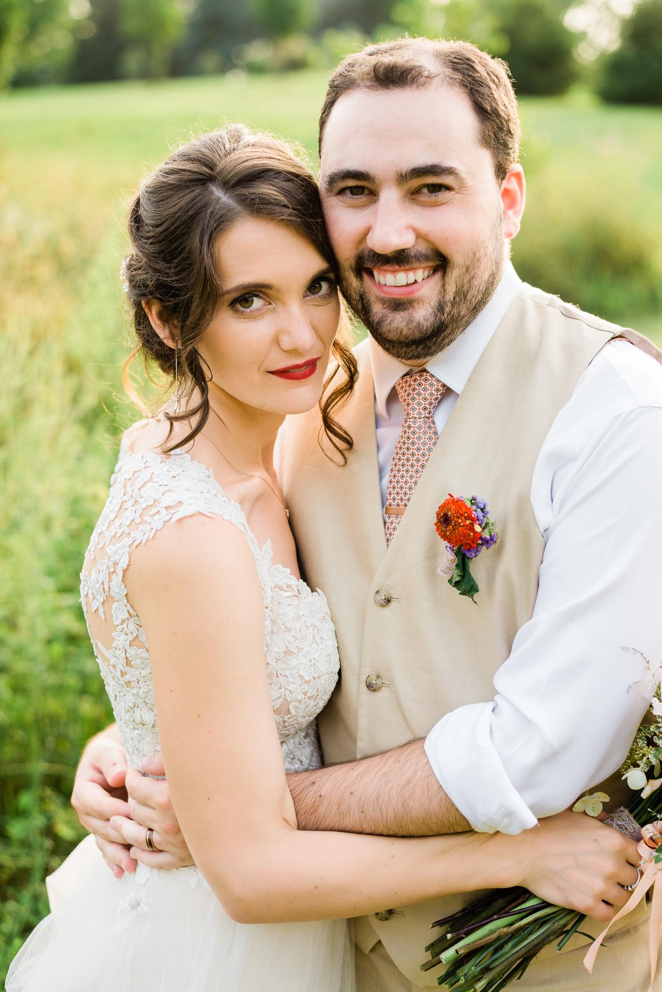 Oxford Iowa Farm Wedding Day Photography