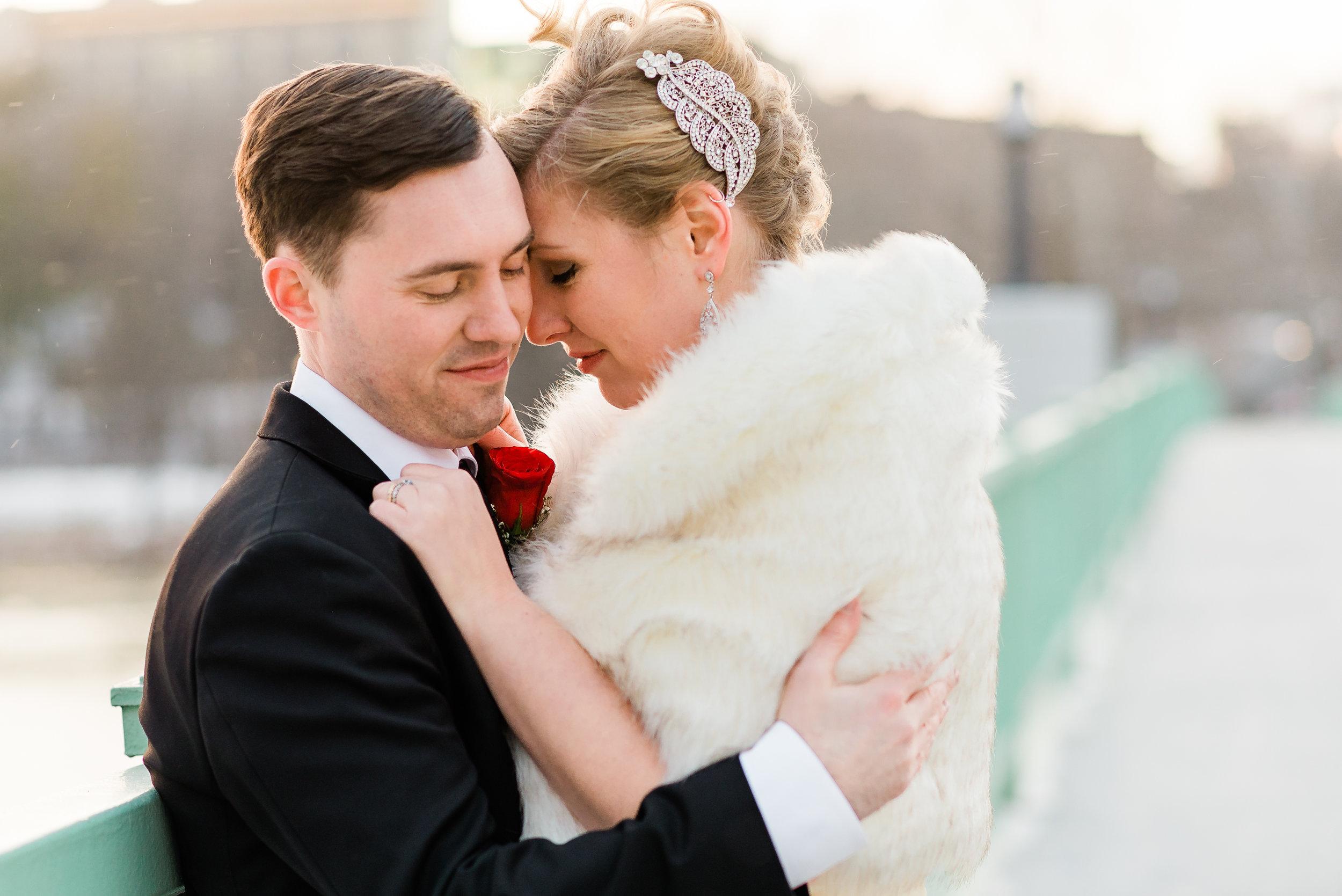 Iowa River - Iowa City, Iowa, Wedding Photographer