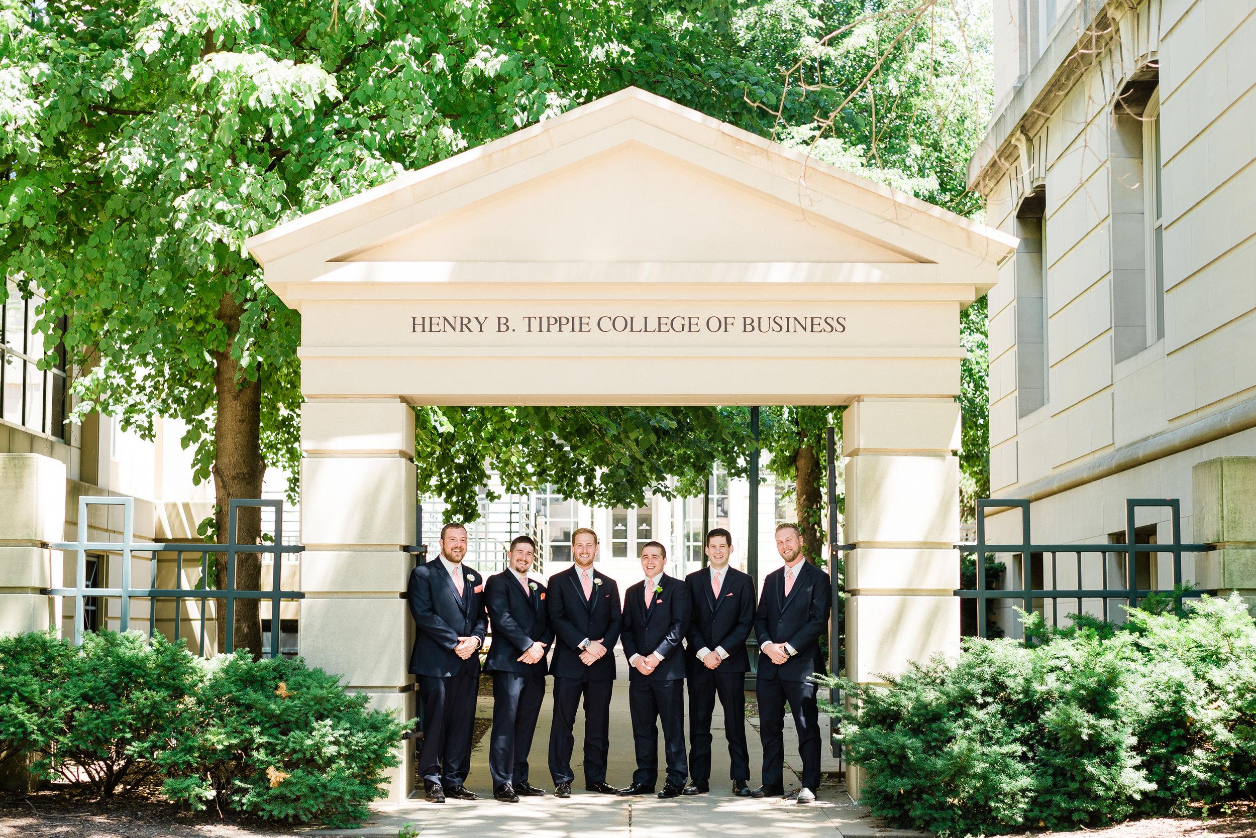 University of Iowa - Iowa City, Iowa, Wedding Photographer