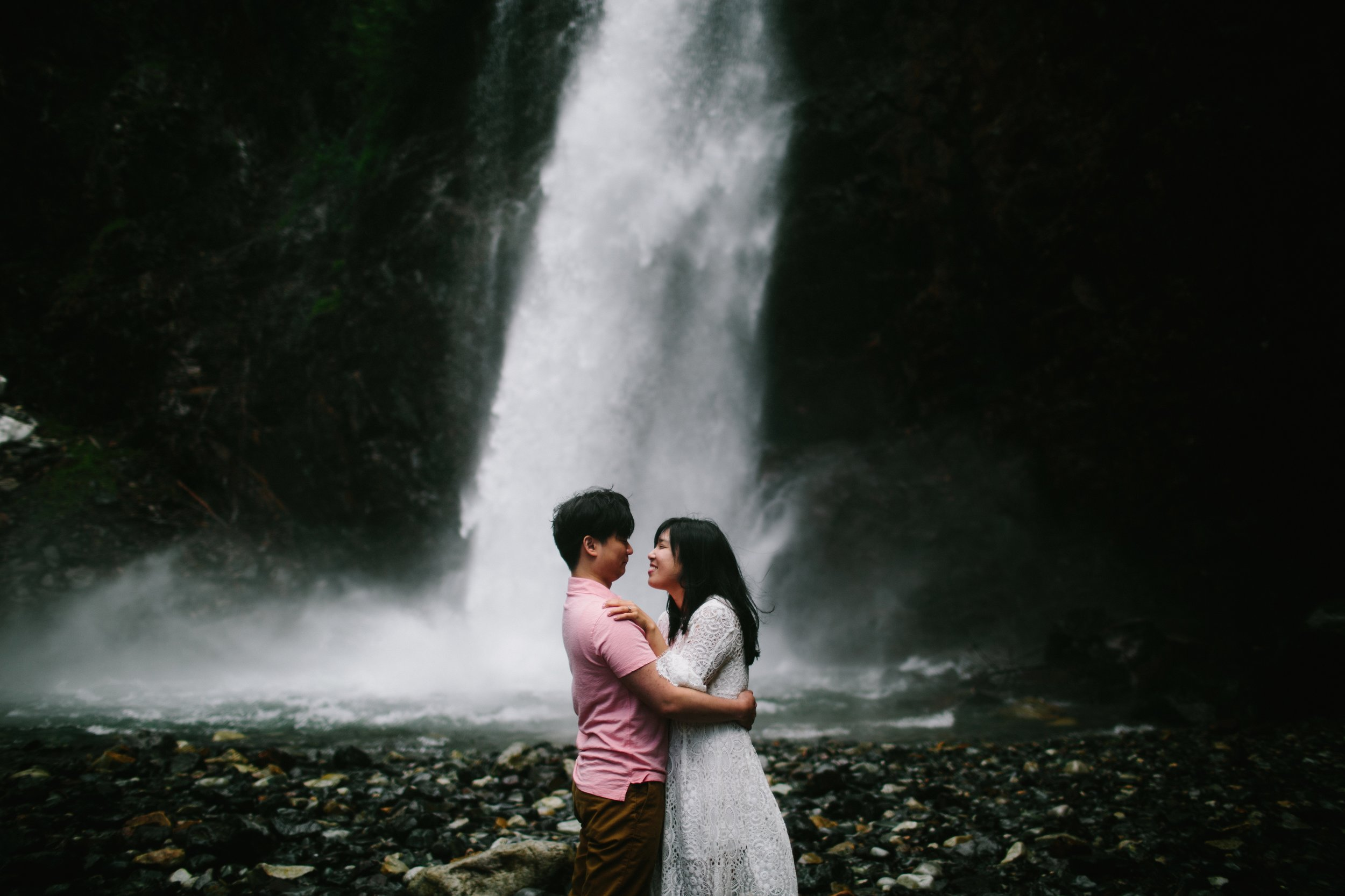 Hana & Jinsub / Franklin Falls