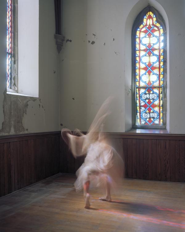 "Figure 3b , Archival Inkjet Print from 4 x 5"" Negative, 40"" x 50"", 2014"
