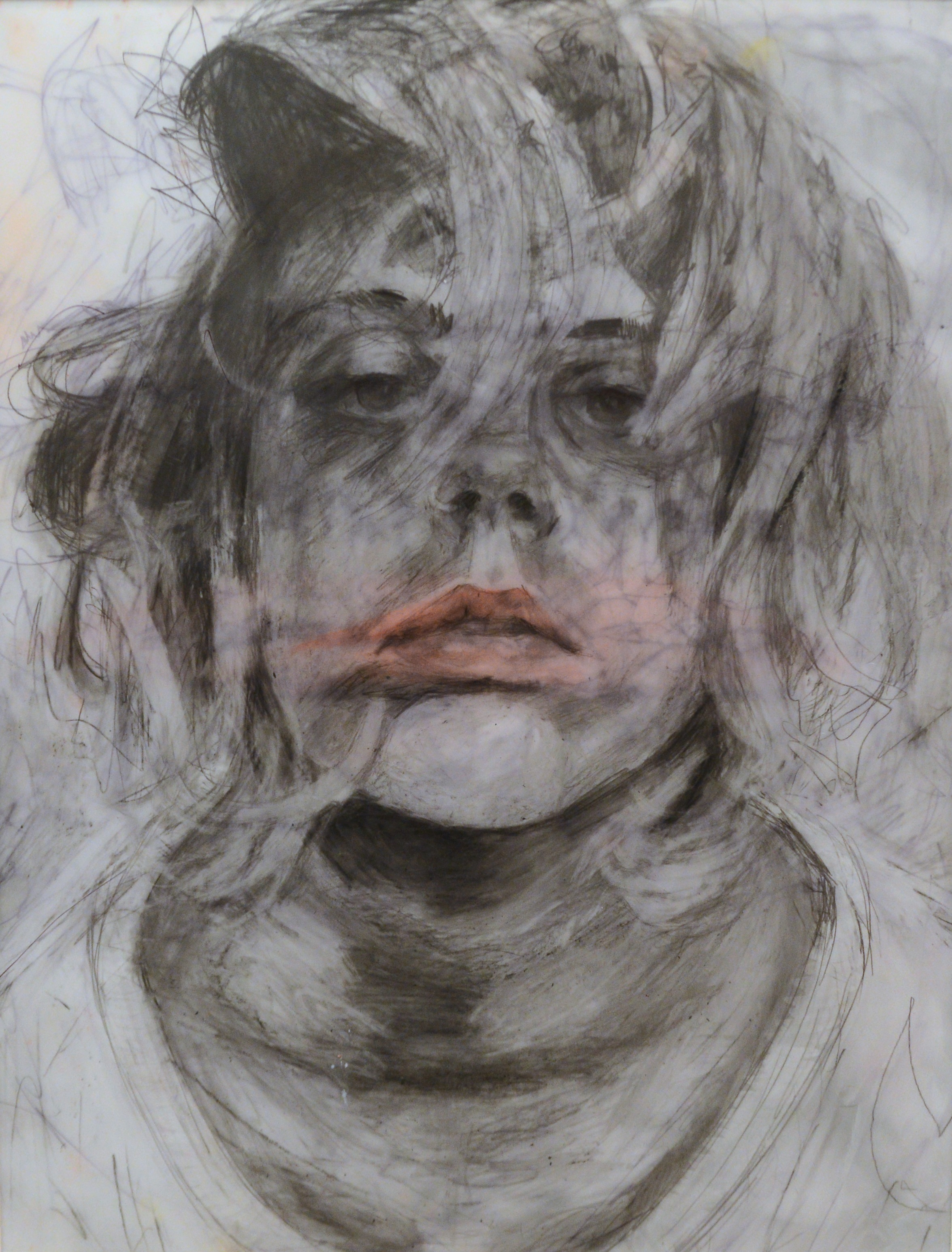 Blown Away, 2012, 14 X 17, Graphite and Watercolor on vellum.jpg
