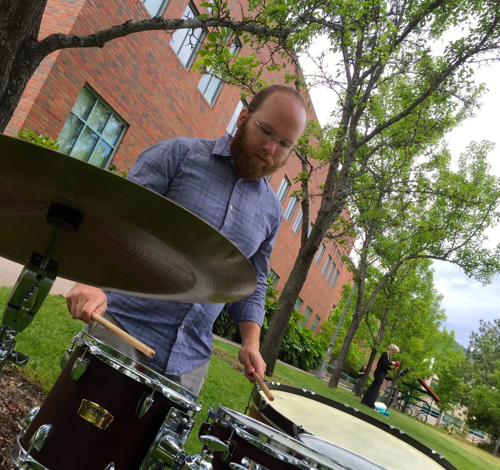 Colin Malloy , at Southern Oregon University. Artist provided photo.