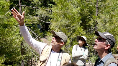 Botanist Doug Kendig. Photo by TDickey