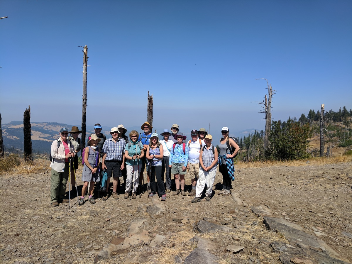 Group atop Grizzly Peak