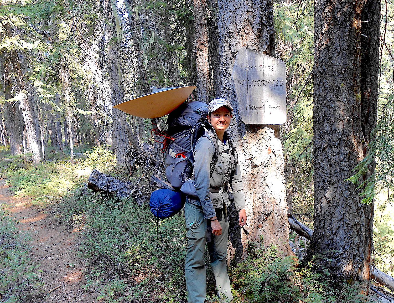 Suphasiri Muttamara on trail