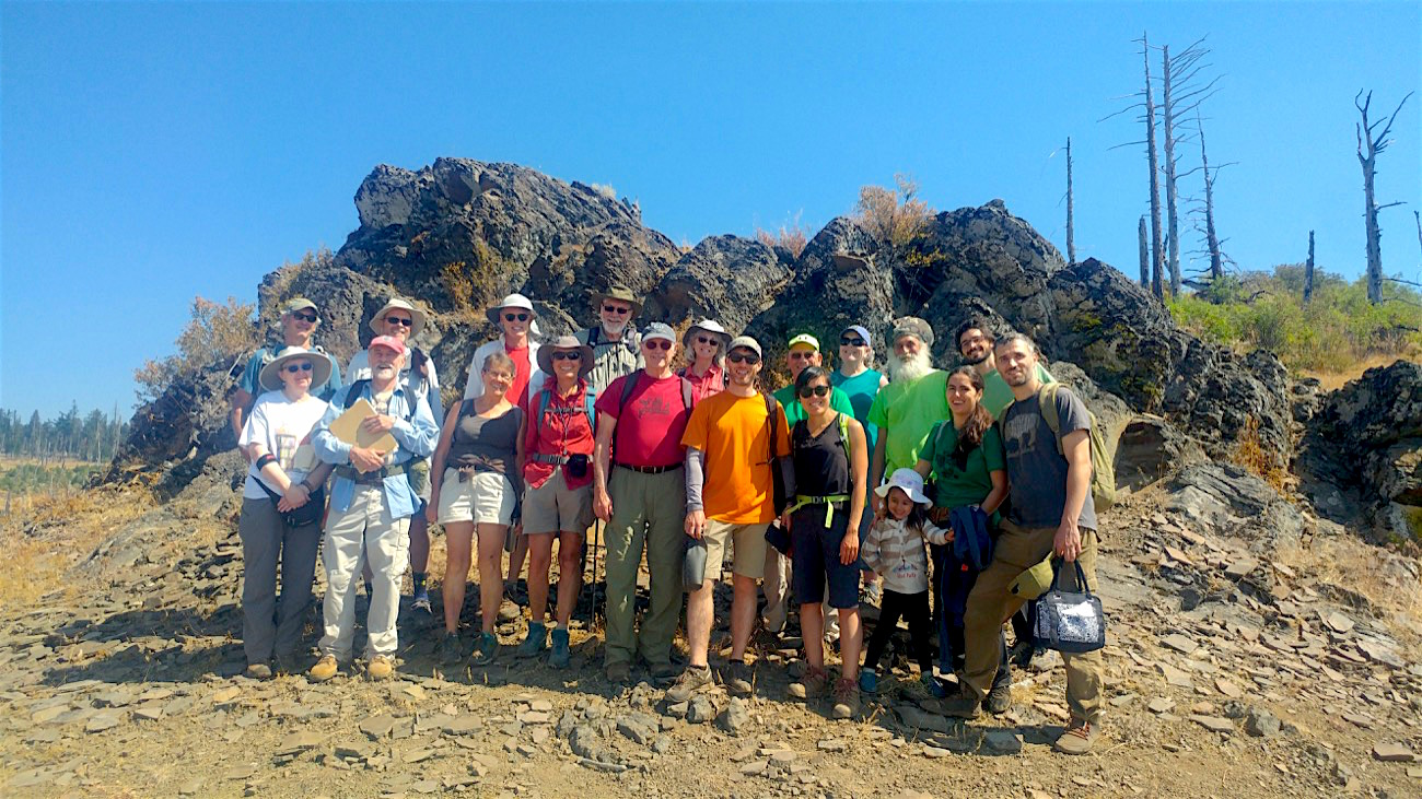 At Grizzly Peak - Hike and Learn group