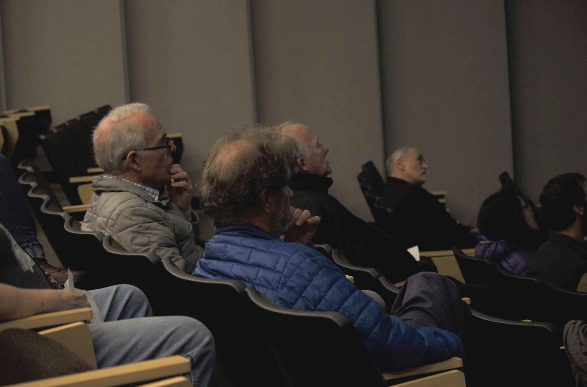 Audience members are interested and engaged by the material presented by the Monument Research Symposium scientists.