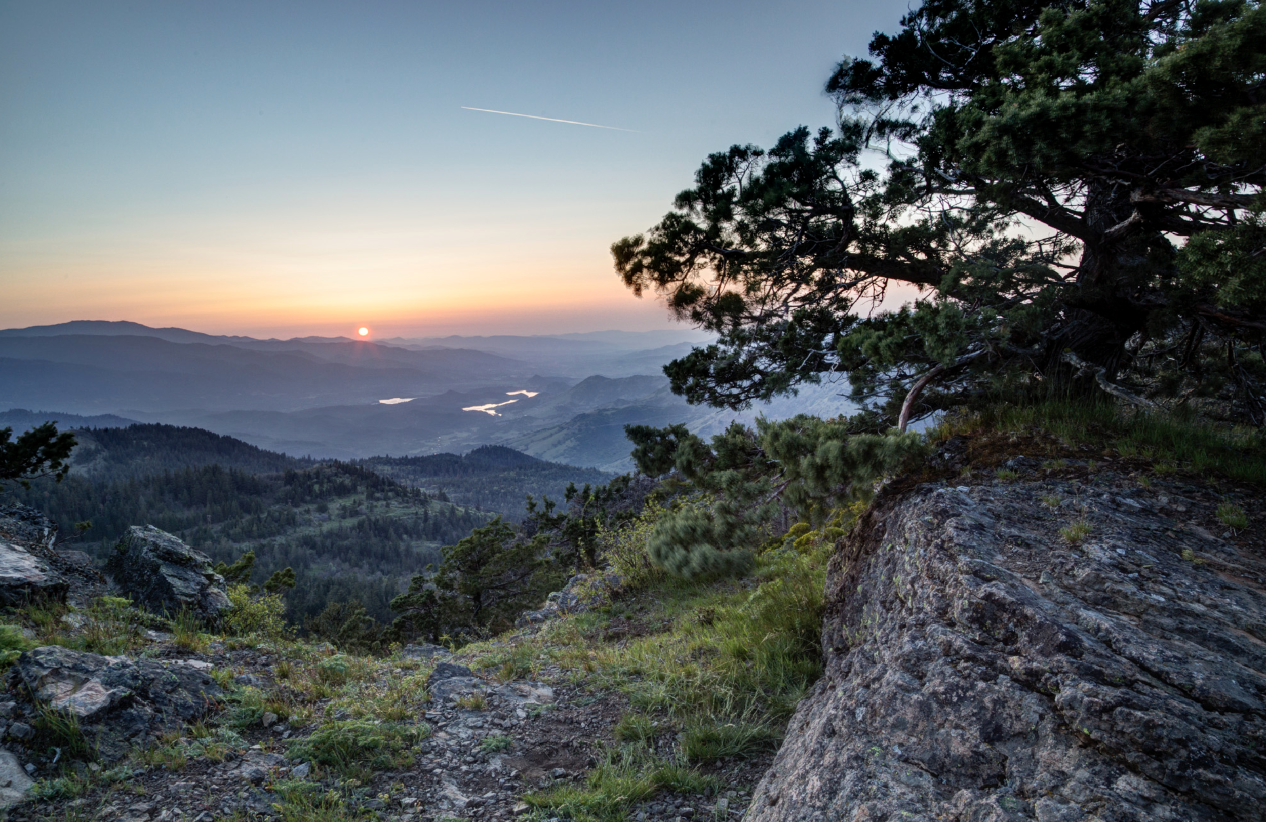 Cascade-Siskiyou National Monument from Hobart Bluff, photo by Bob Wick.