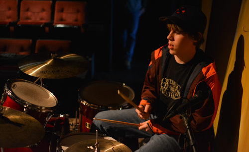 """Joining up with a band not only motivated him to practice, but working with other musicians also made the whole thing click for him. His improvement since working with Cole has been amazing."""""""