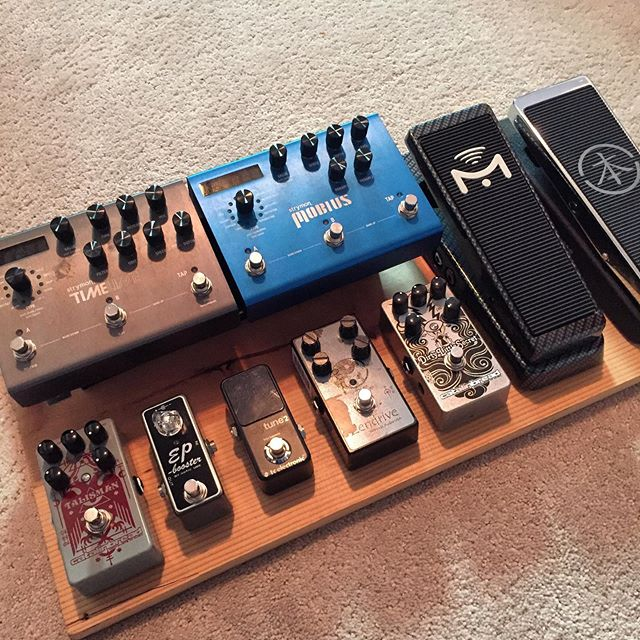 I'm thinking this will be my next pedalboard layout.  Got any ideas for me?