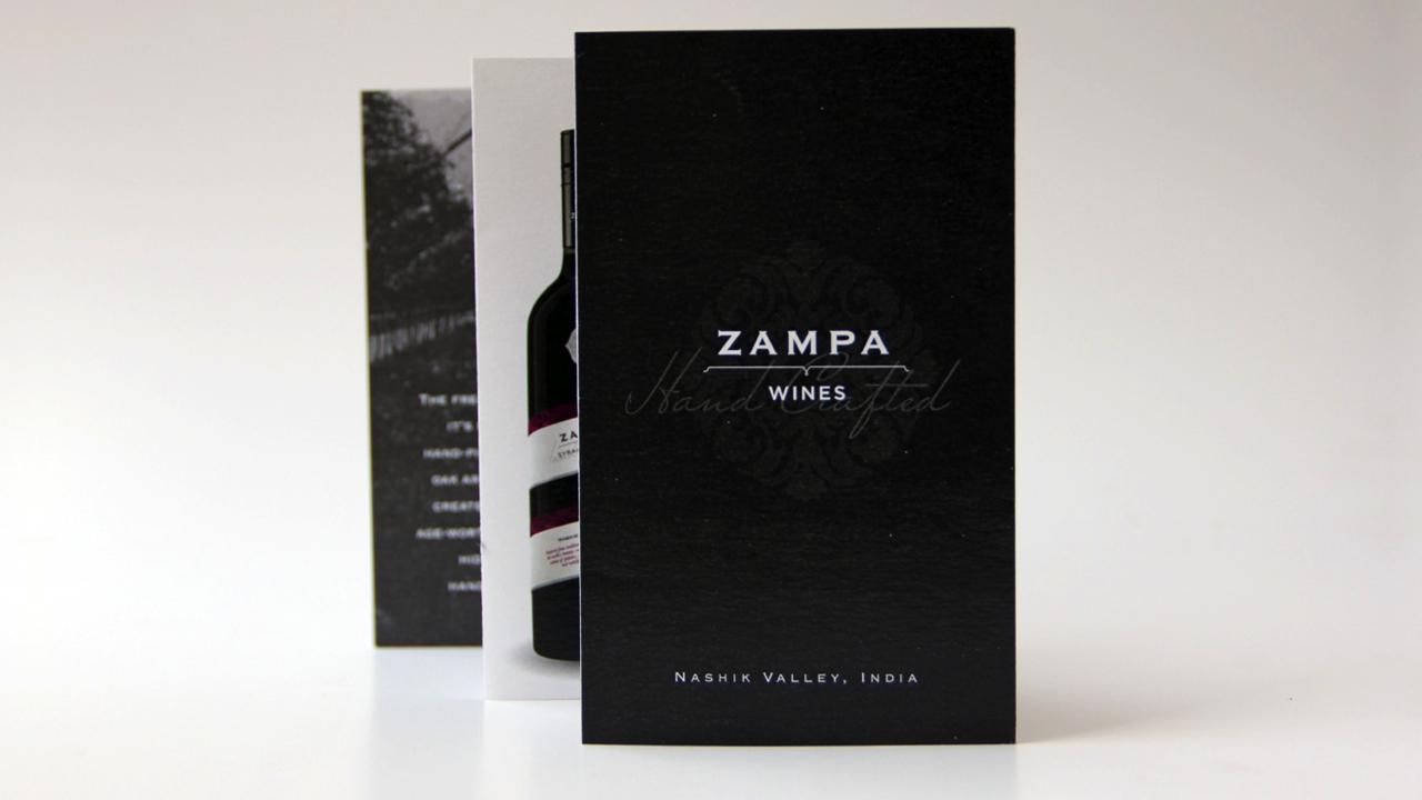 Wine information leaflet