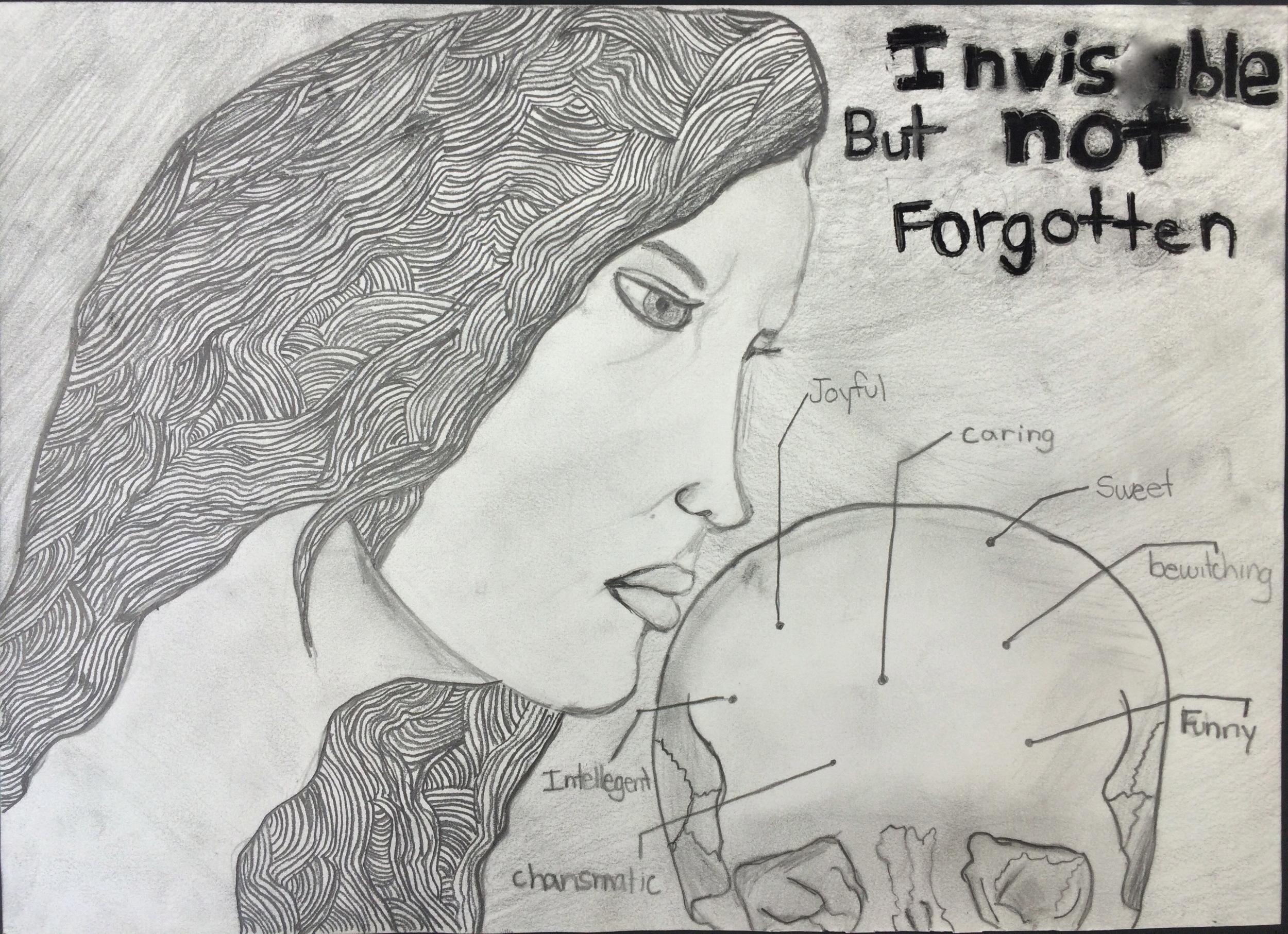 Drawing made by Rebecca Gardi