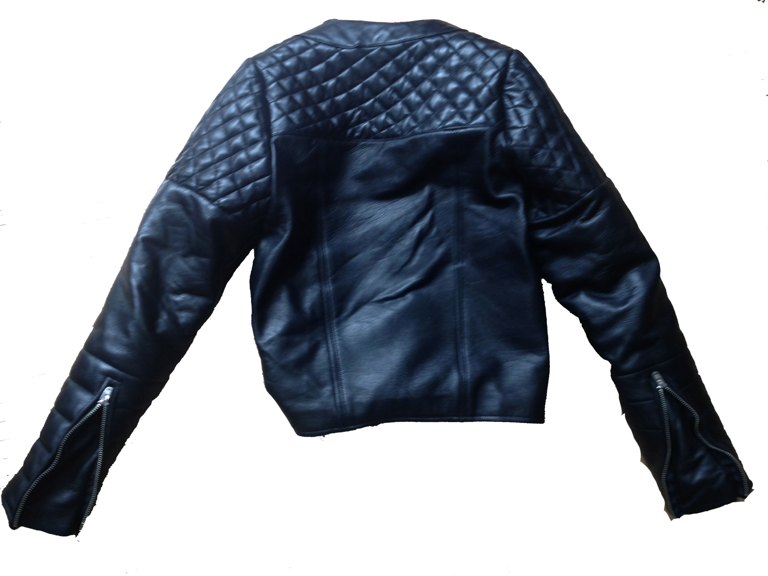 Leather Jacket Back View Lay Down.jpg
