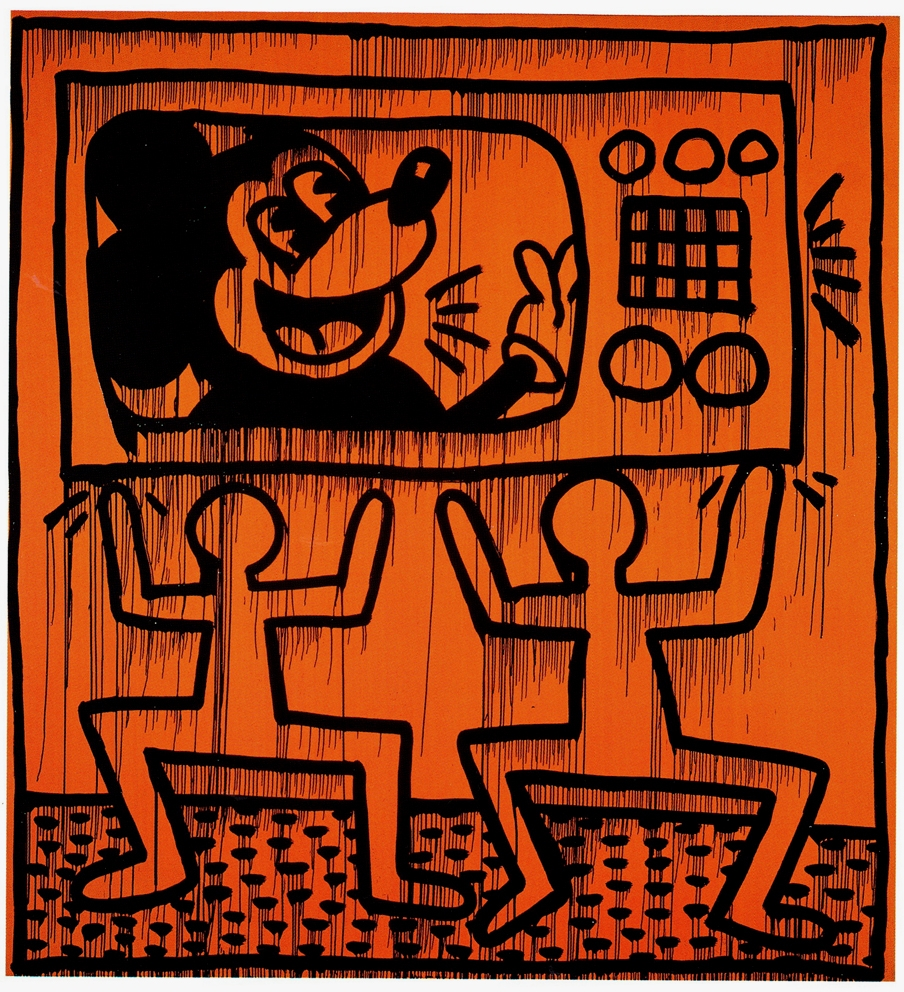 Keith Haring, Untitled, 1981.
