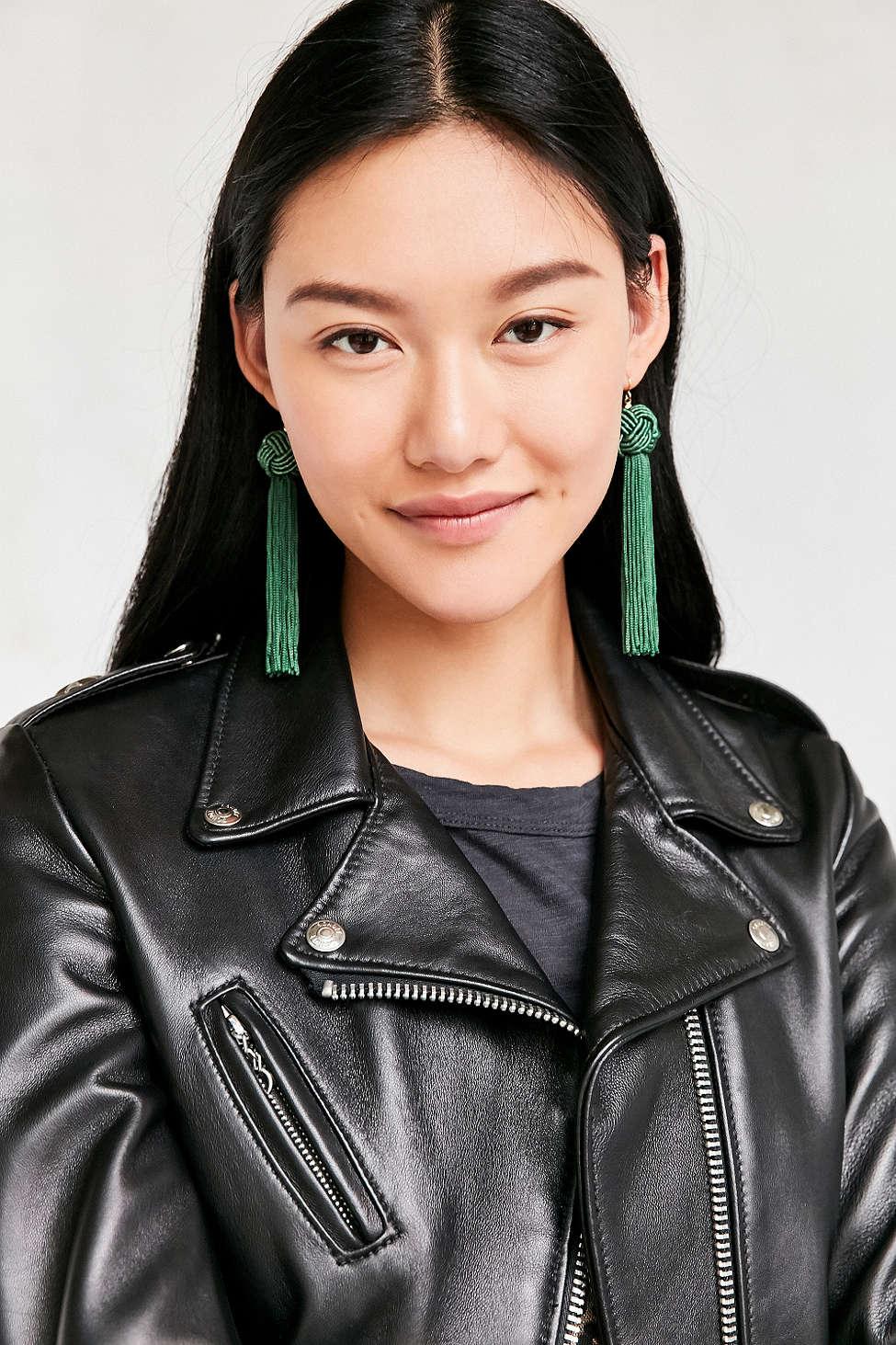 Tassel Earrings, Urban Outfitters