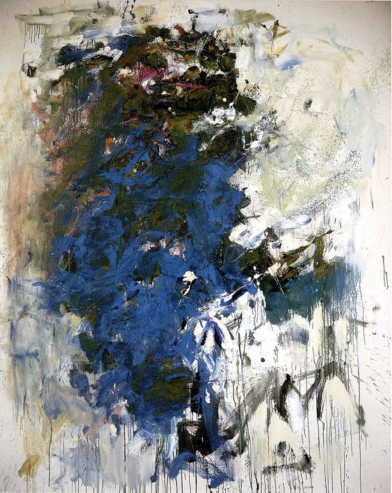 Joan Mitchell, Blue Tree, 1964.