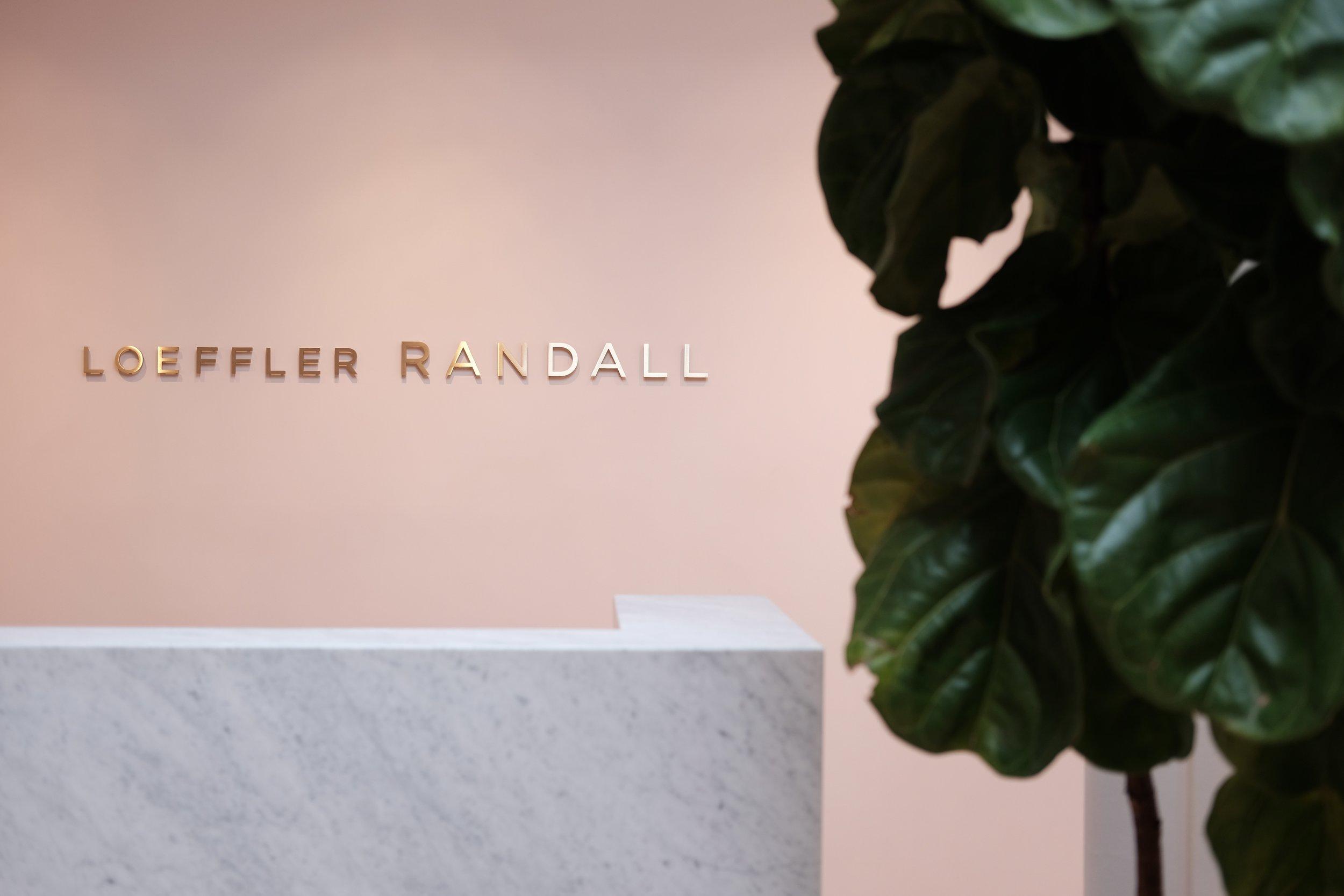 Reception at  Loeffler Randall.