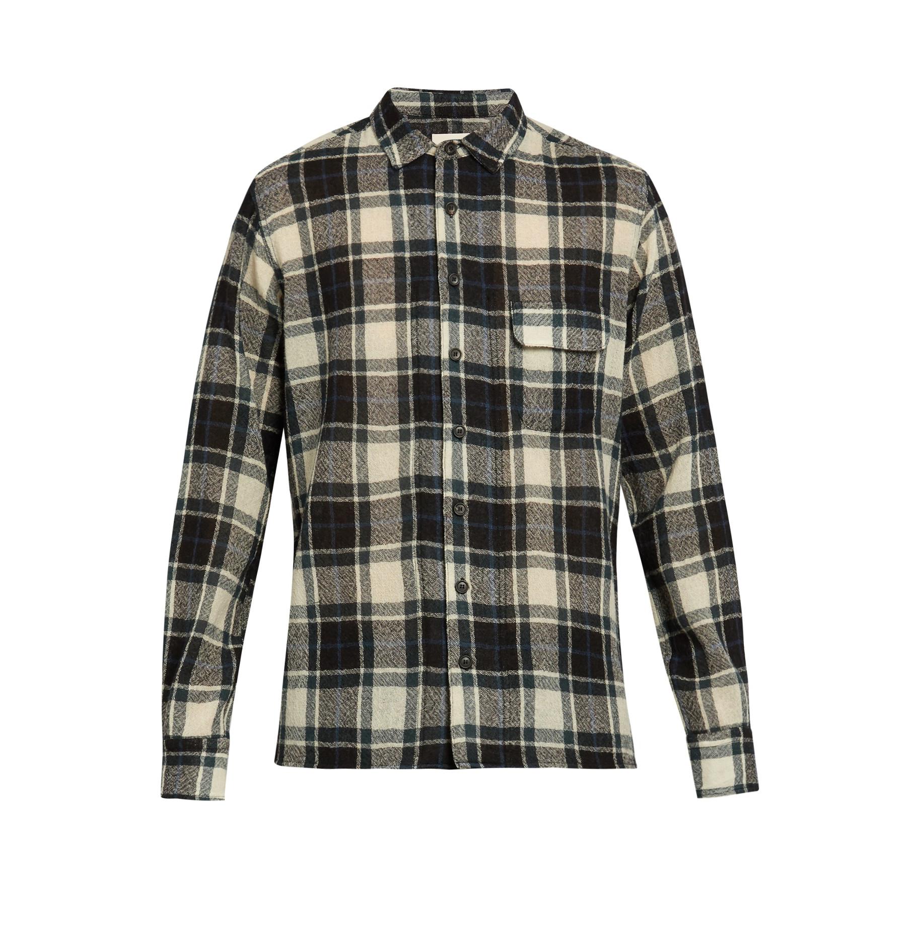Simon Miller  Bexar Plaid Wool Shirt