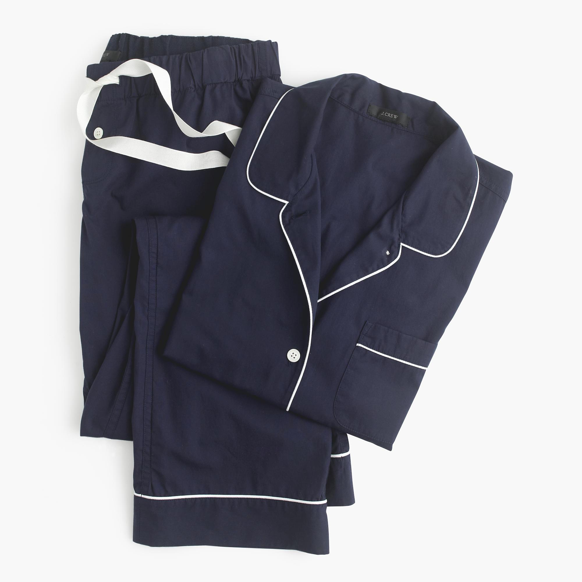 J.Crew  Vintage Pajama Set, Hint: Wear the shirt solo.