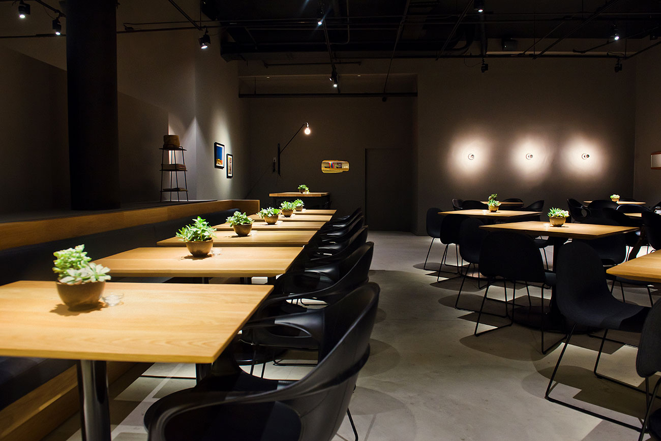The main dining room at Cosme, NYC.