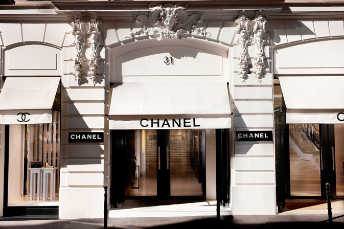 Coco Chanel's original atilier and boutique on Rue Cambon, Psris.
